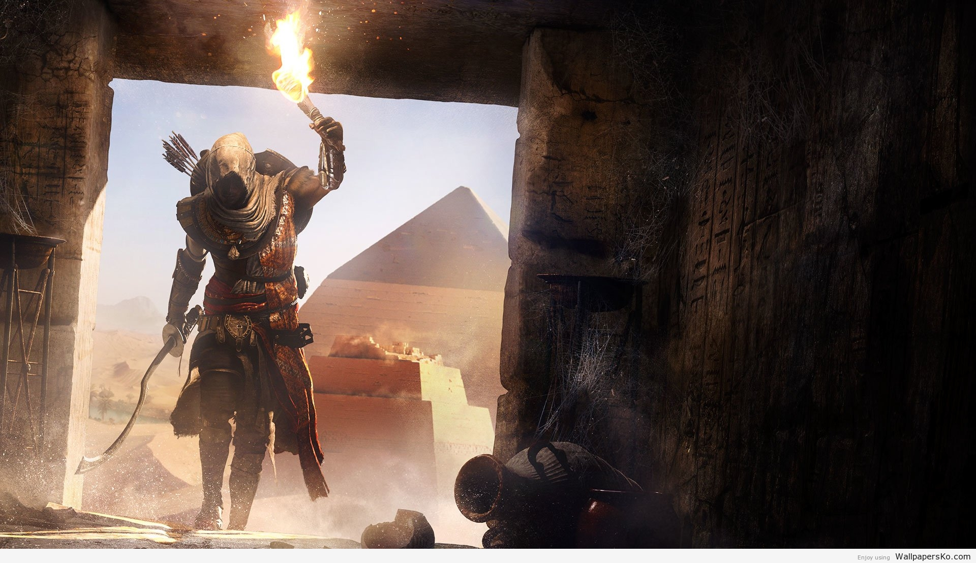 assassins creed origins wallpaper