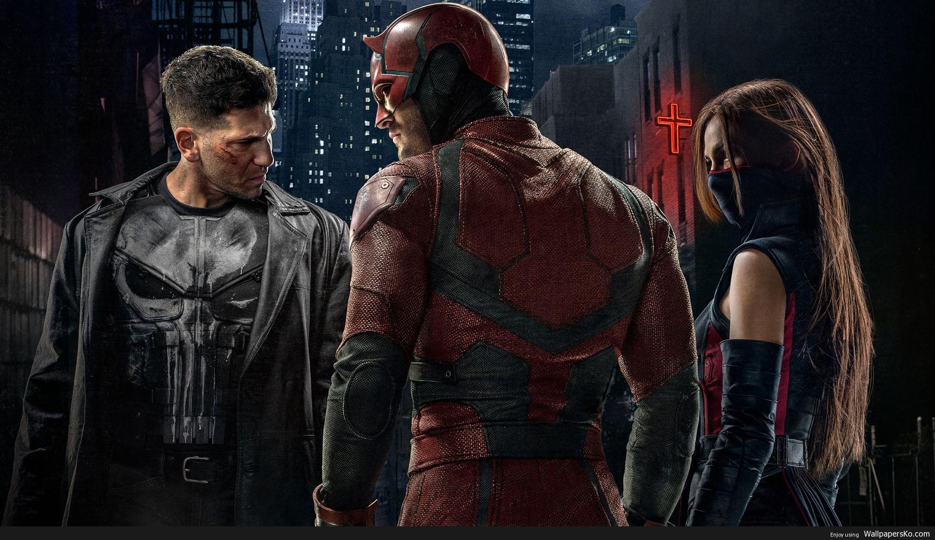 daredevil season 2 wallpaper
