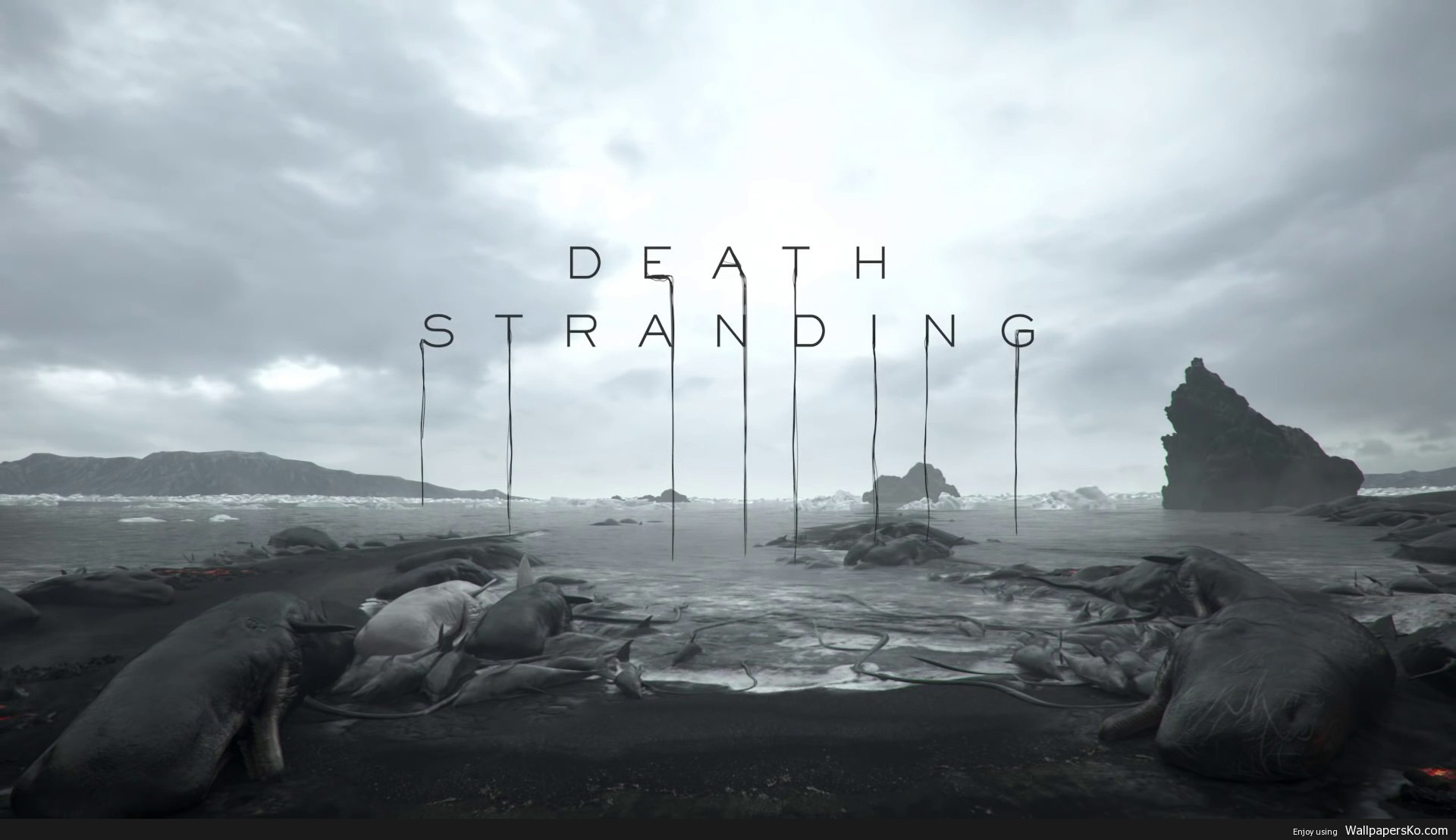 death stranding wallpaper