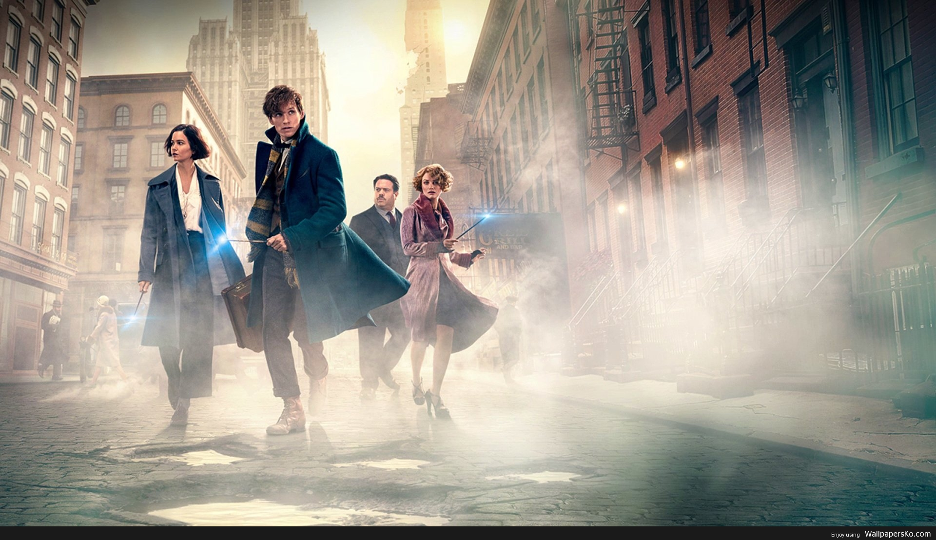 fantastic beasts wallpaper