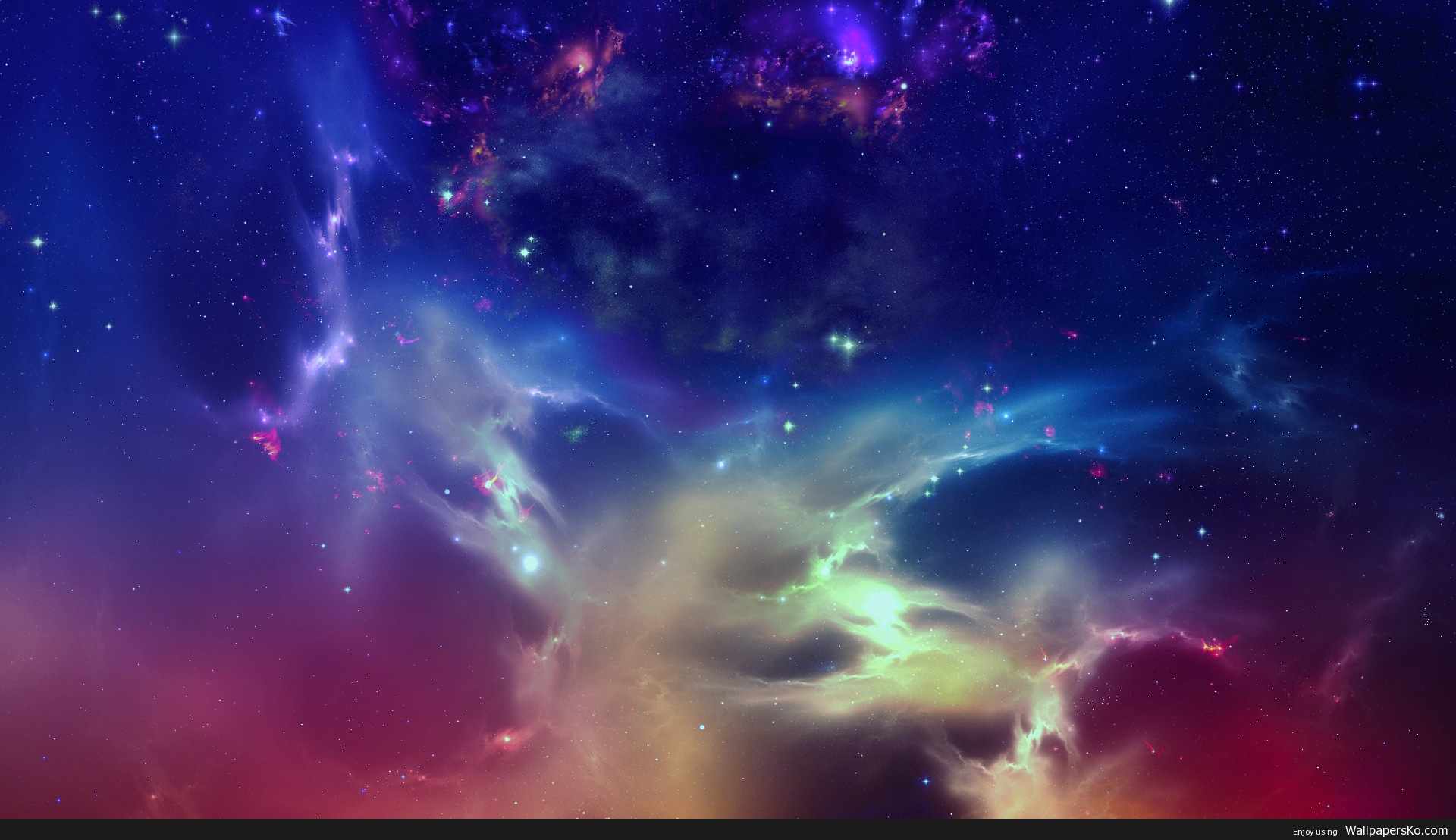 space background 1080p