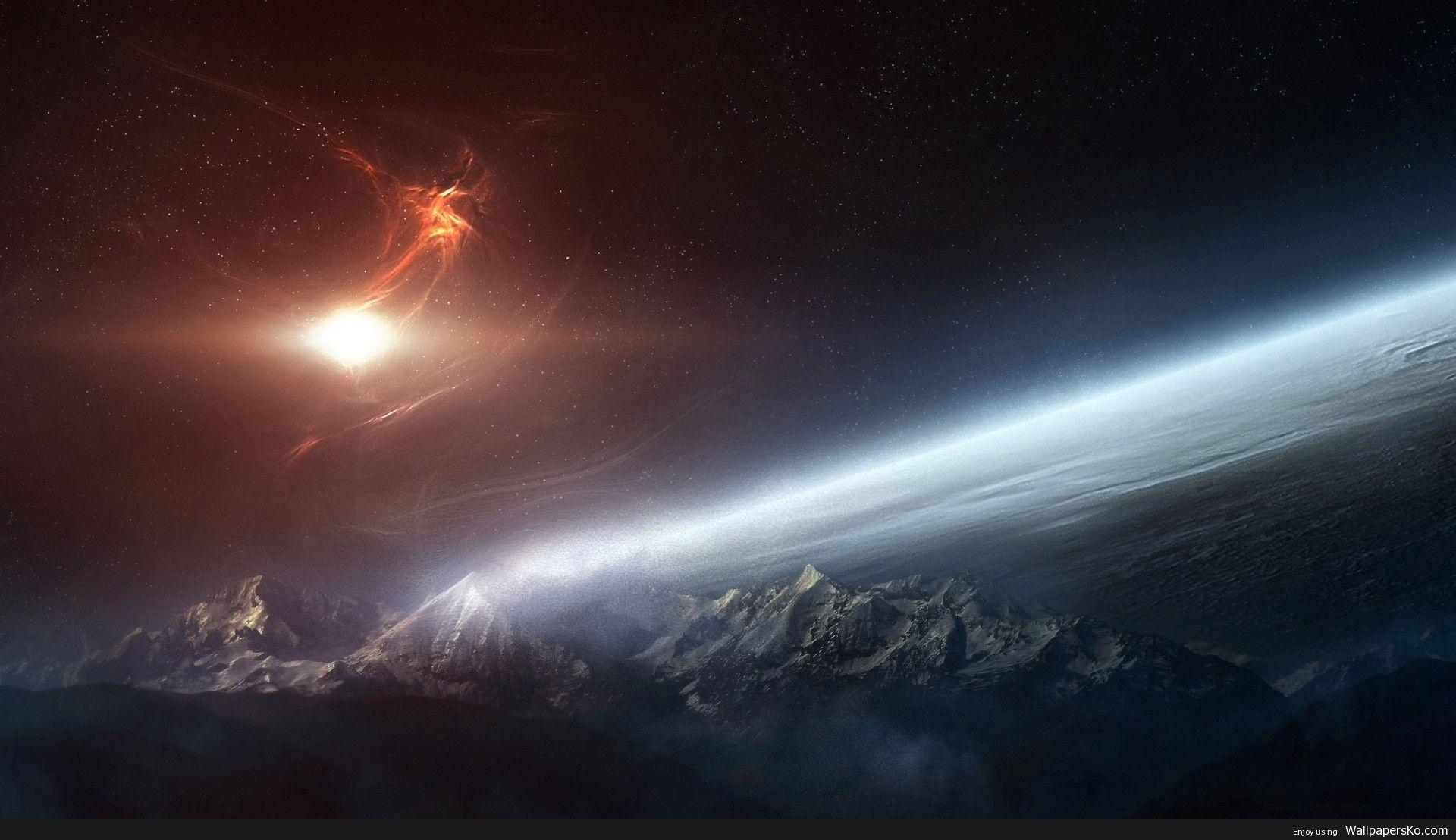 space background 1920×1080