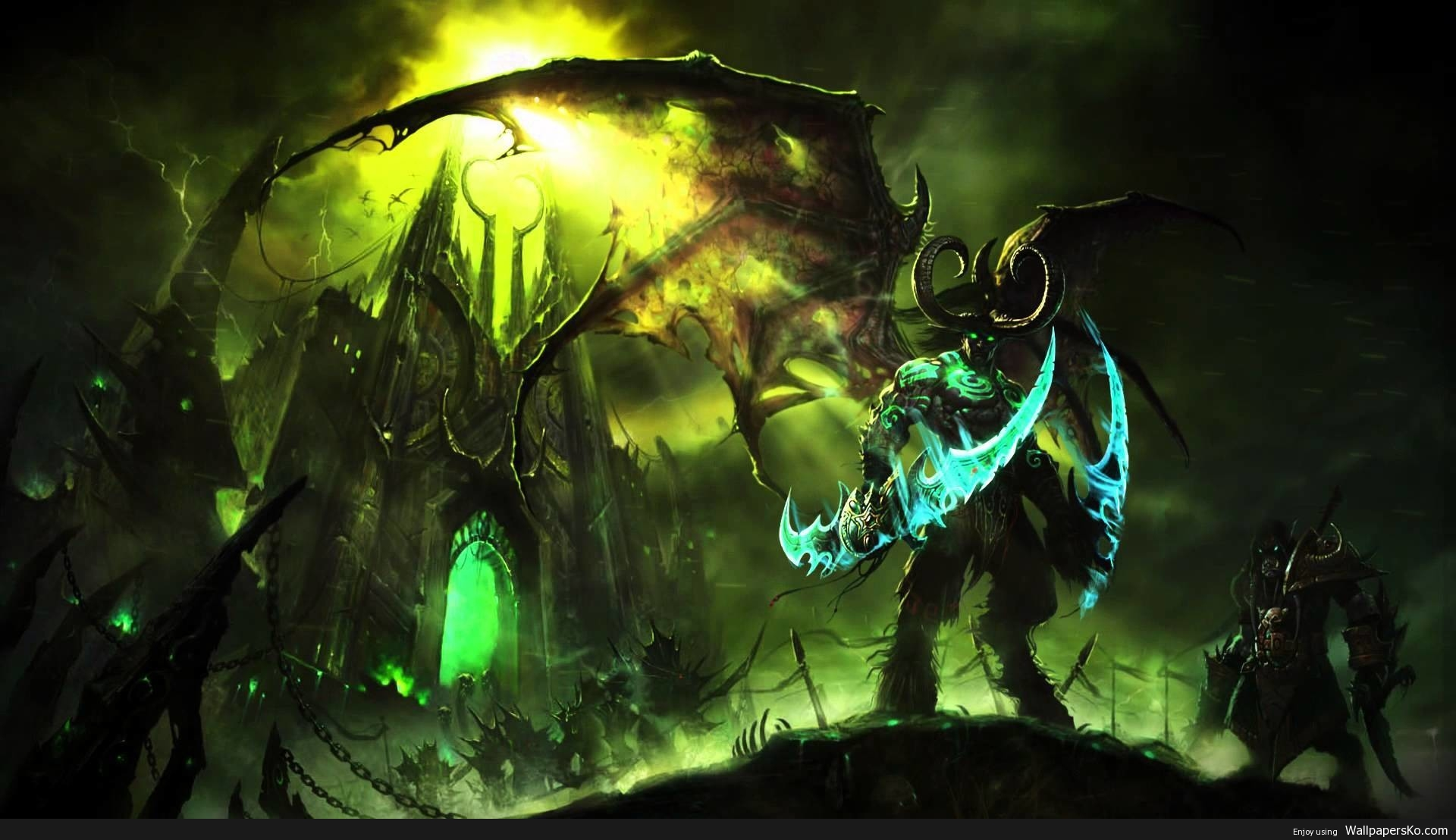 wow legion wallpaper