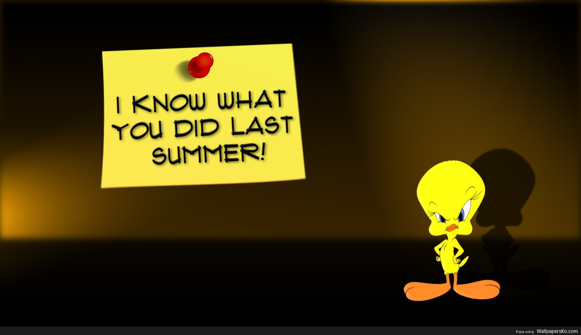 tweety wallpaper i know what you did last summer