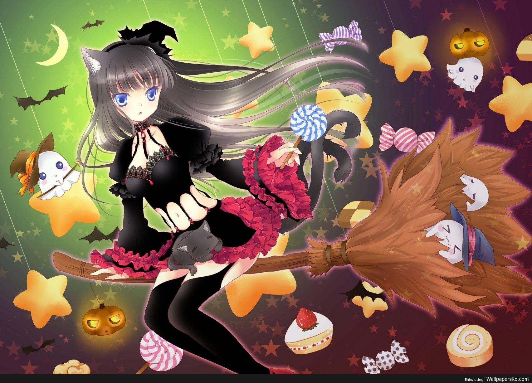 Anime Halloween Wallpaper Hd