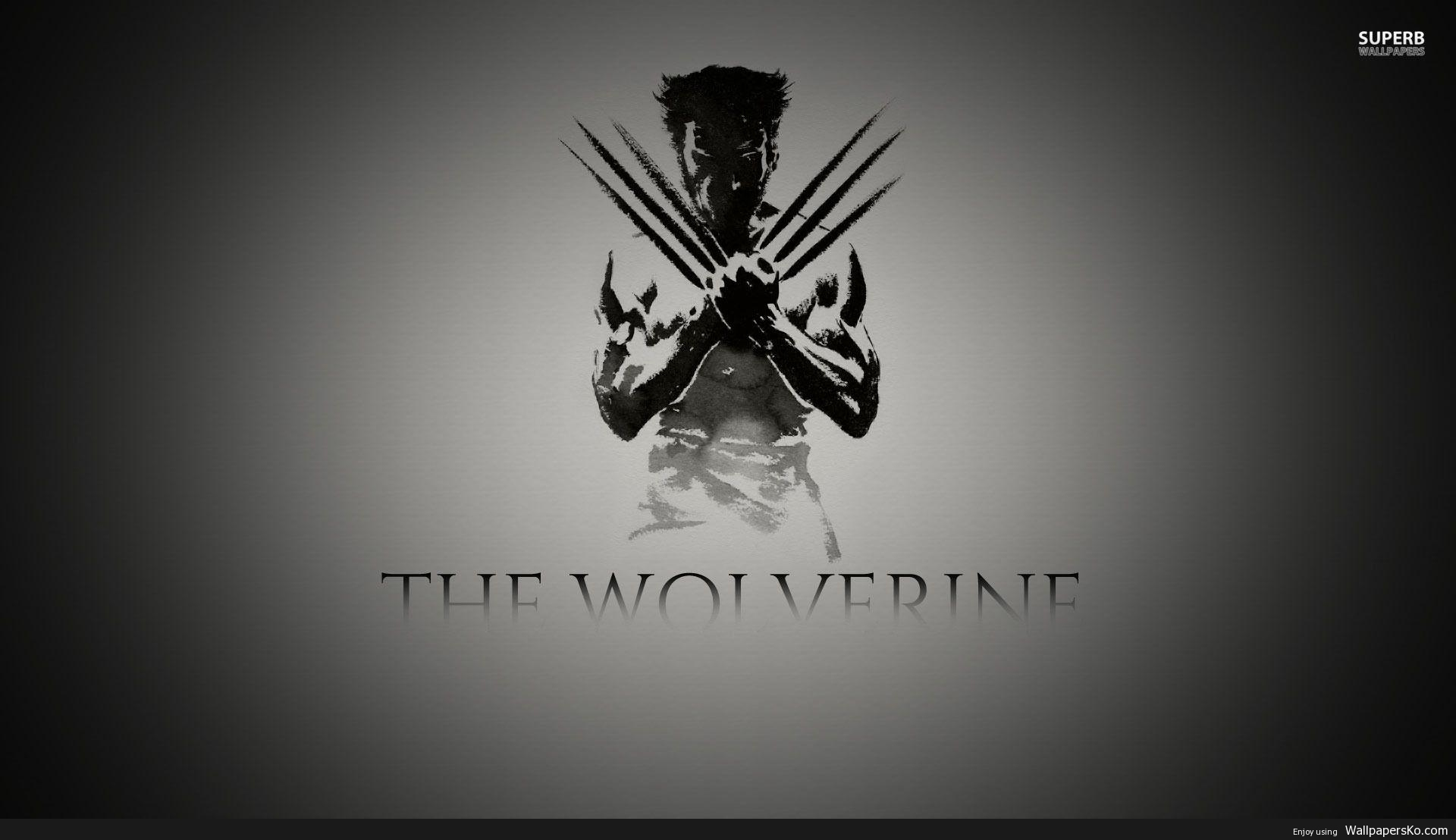 Black Wolverine Wallpaper