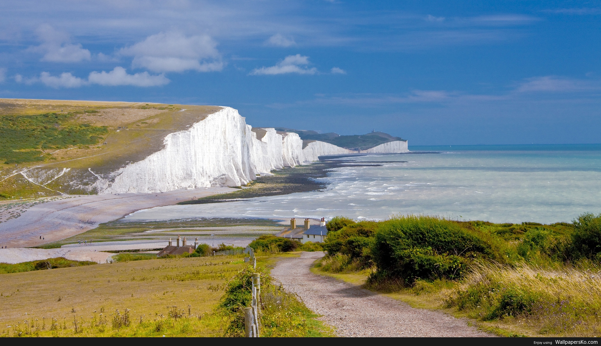Cliffs Of Dover Wallpaper