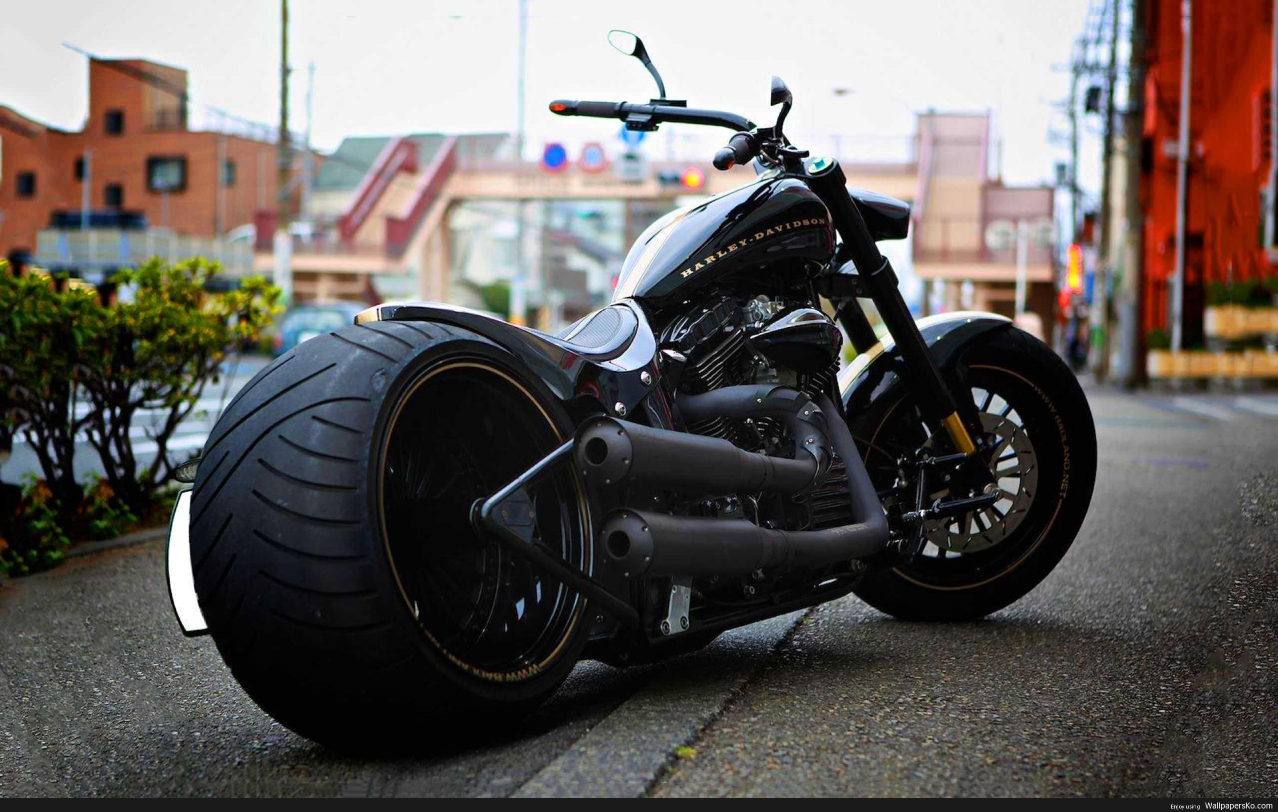 Custom Harley Wallpaper