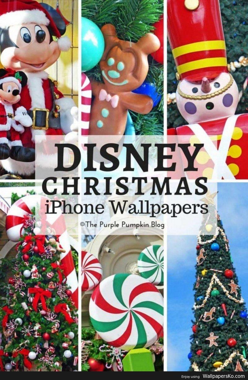 Disney Christmas Iphone Wallpaper