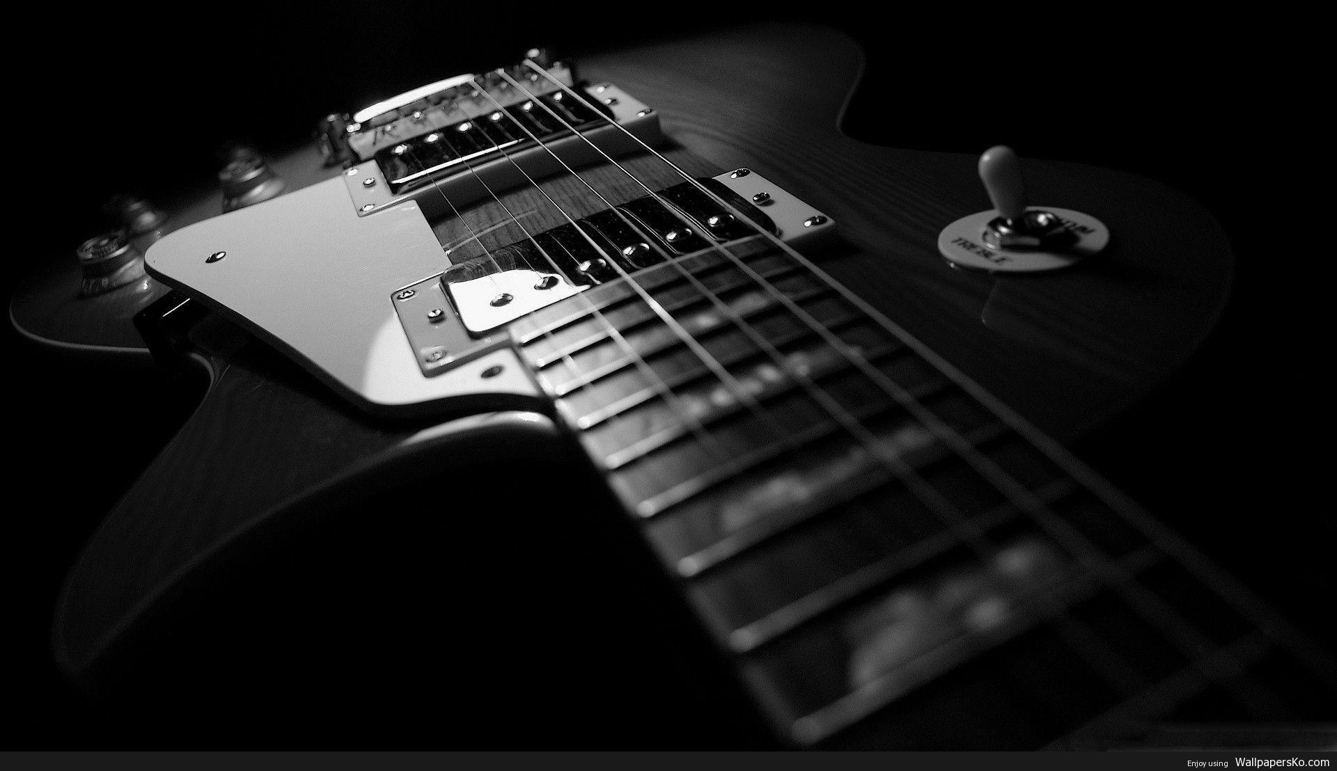 Guitar Desktop Background