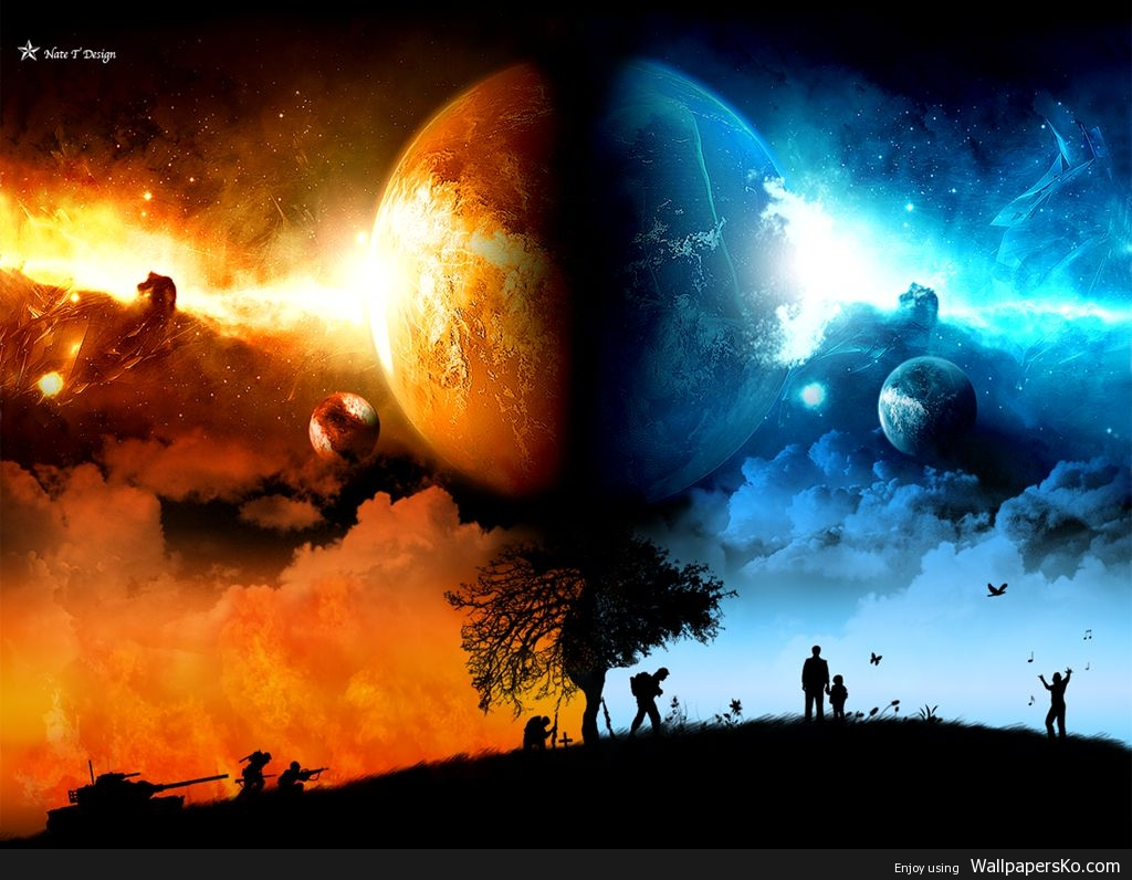 Heaven And Hell Image