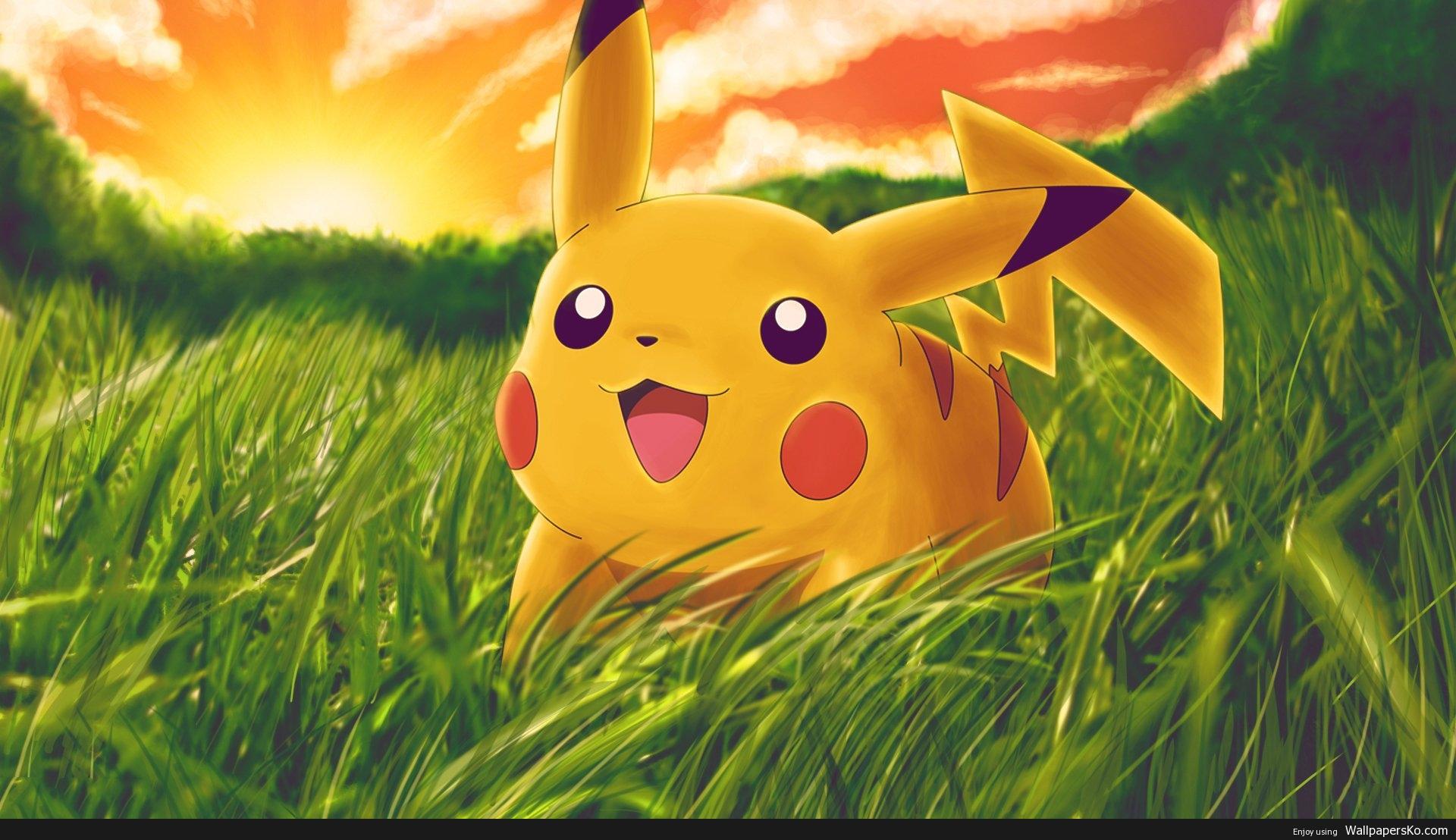 Pikachu Desktop Background