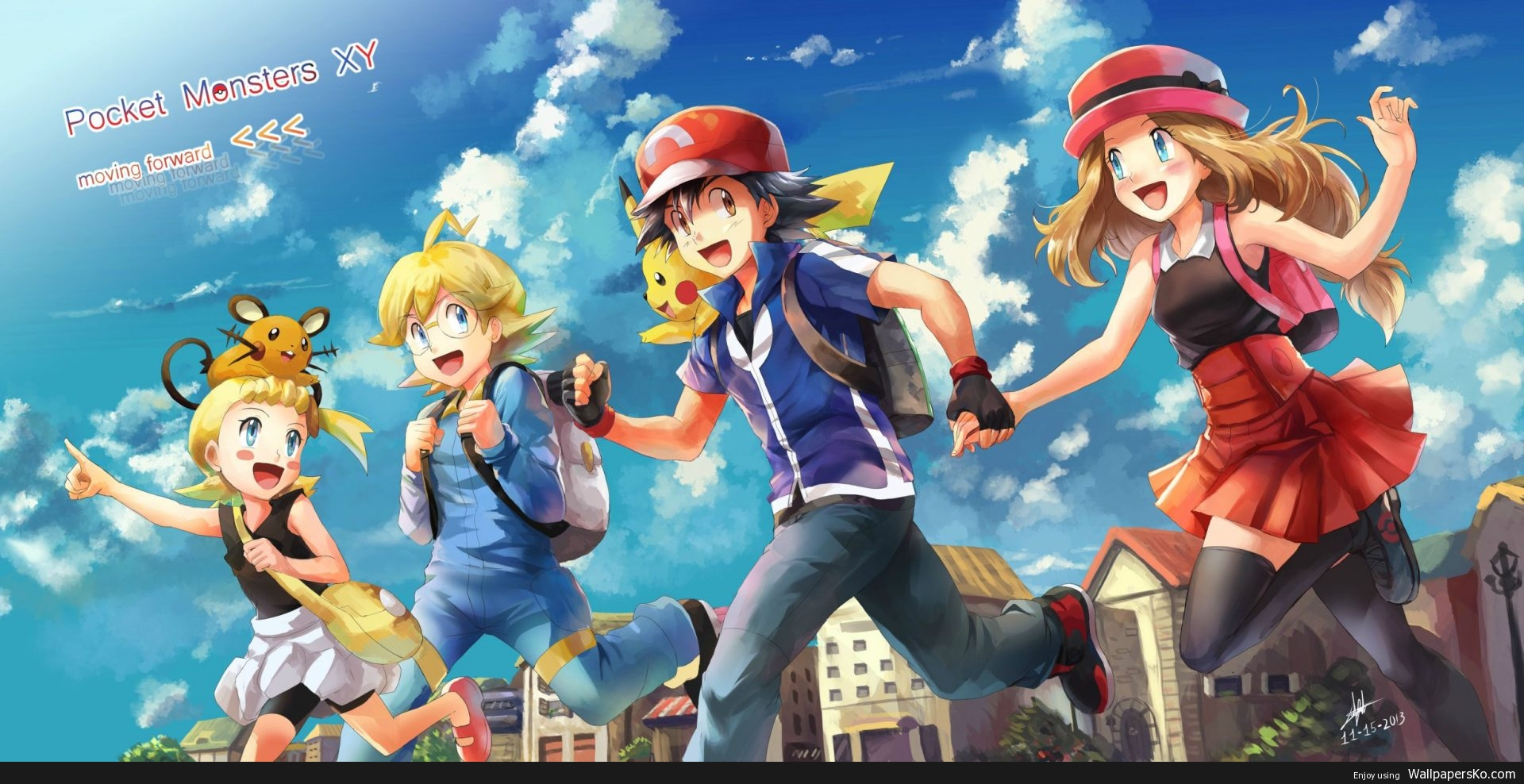 pokemon xy anime download hd wallpapers download