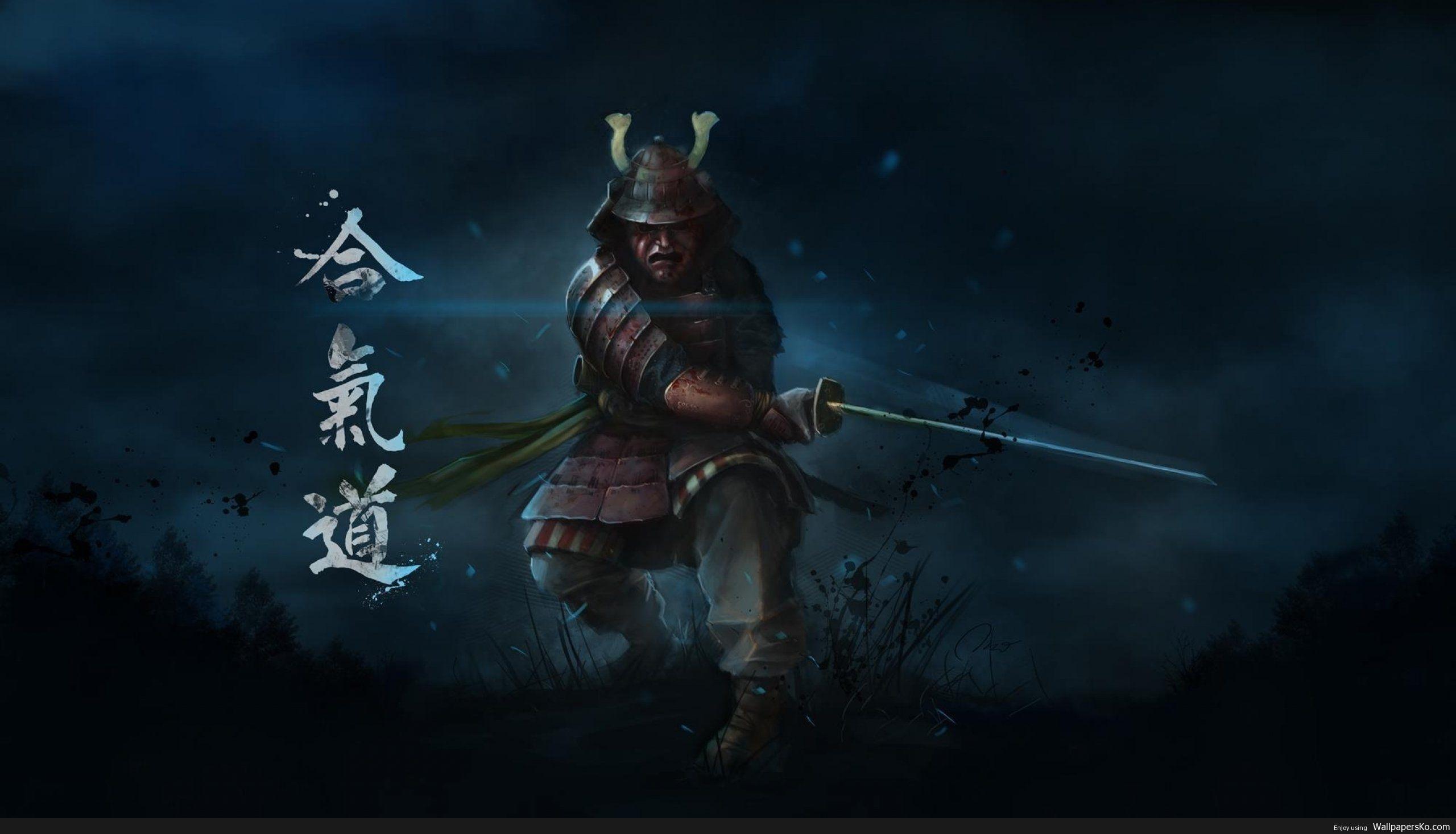 Samurai Warrior Wallpaper
