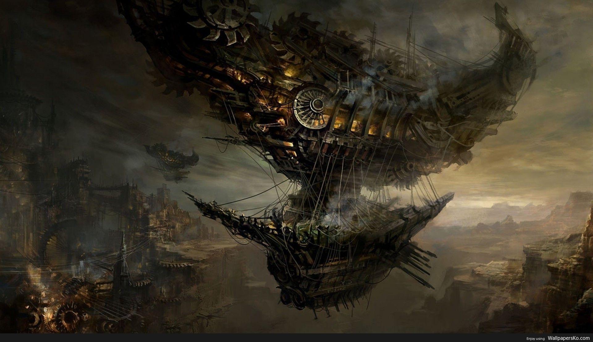 Steampunk Wallpaper 1080p