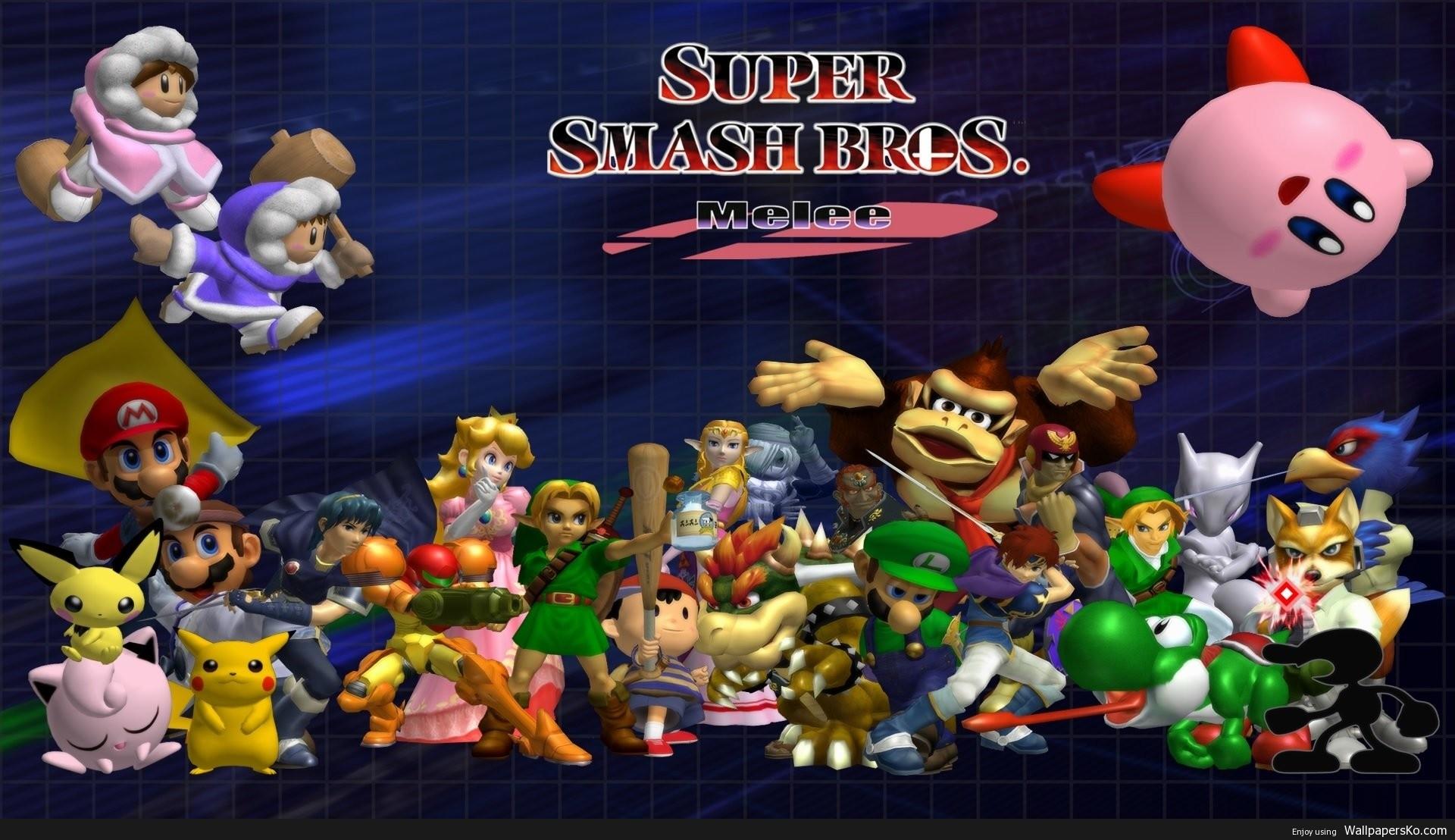 Super Smash Bros Melee Desktop Background