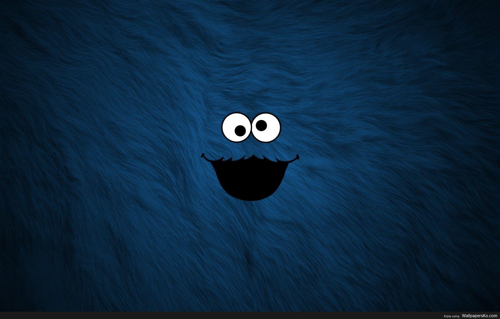 Wallpaper Cookie Monster