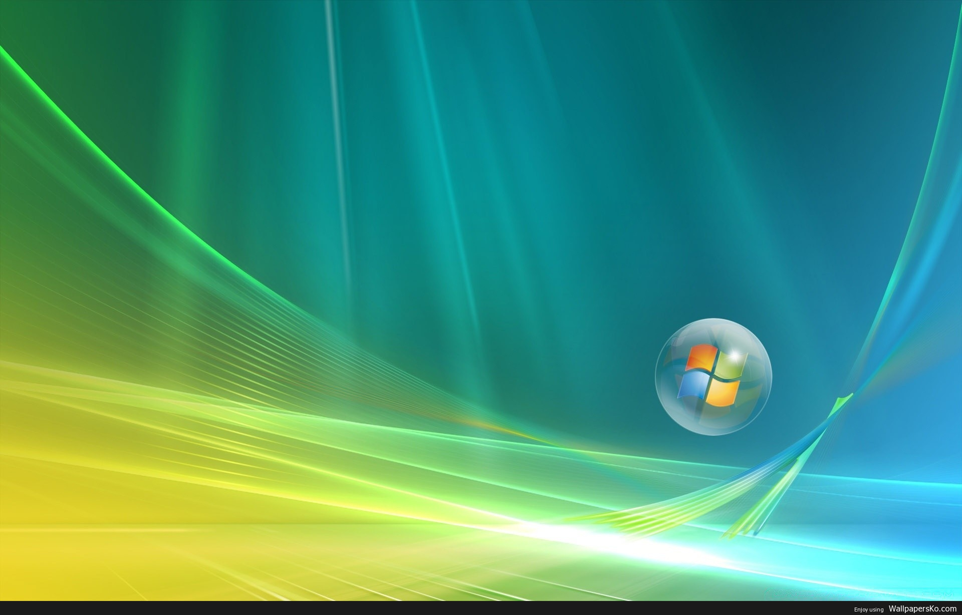 Windows Vista Aero Wallpaper