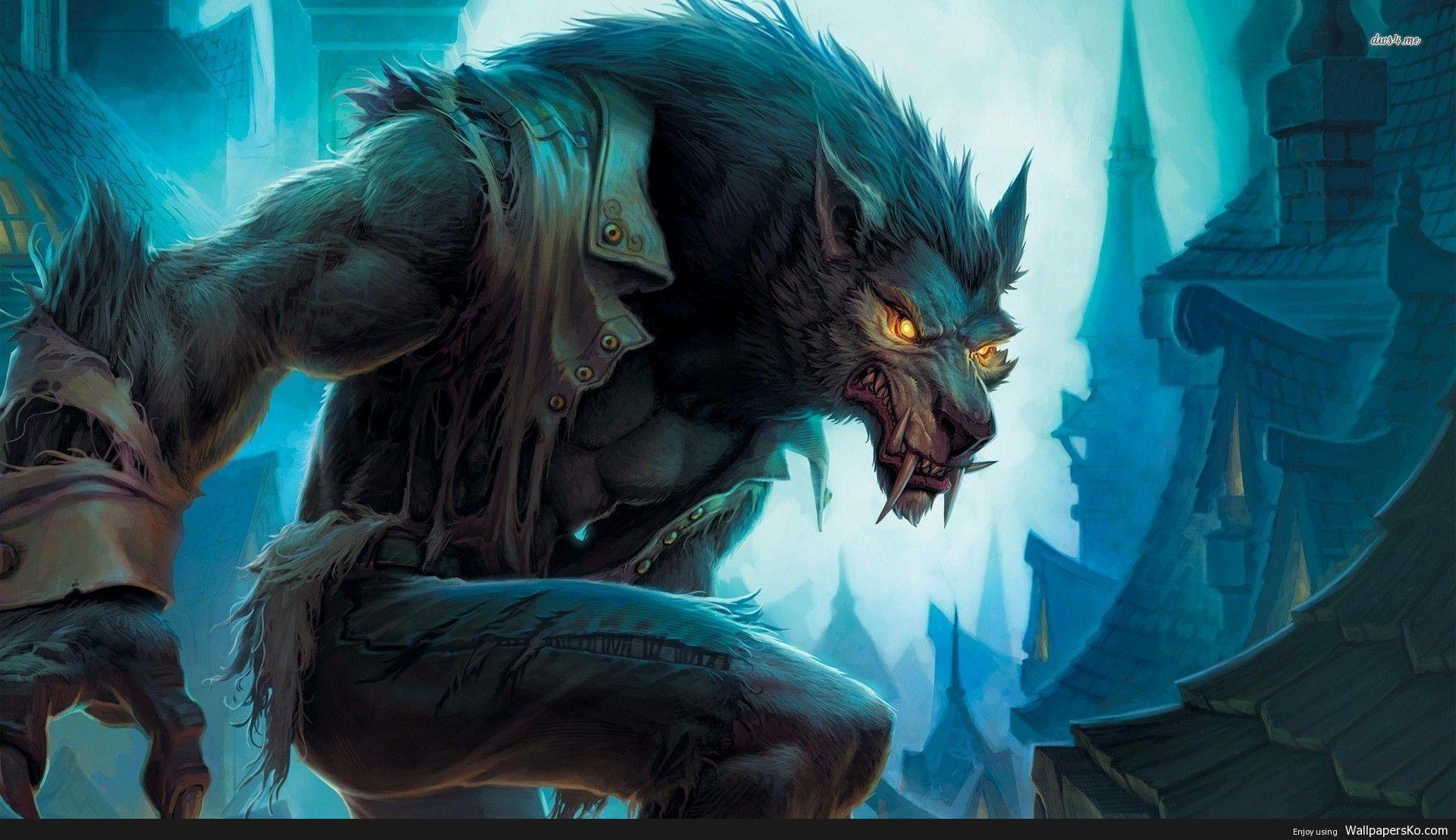 World Of Warcraft Worgen Wallpaper