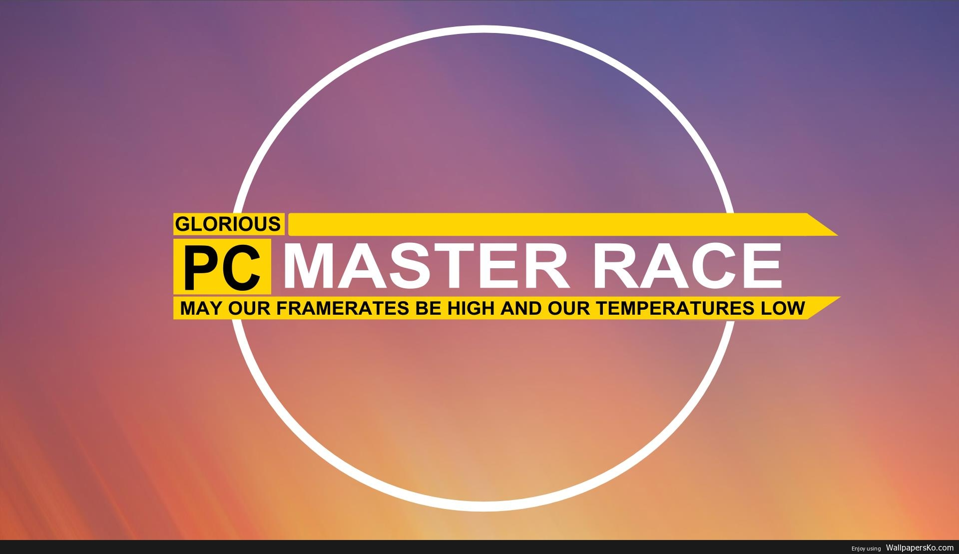 pcmasterrace wallpaper
