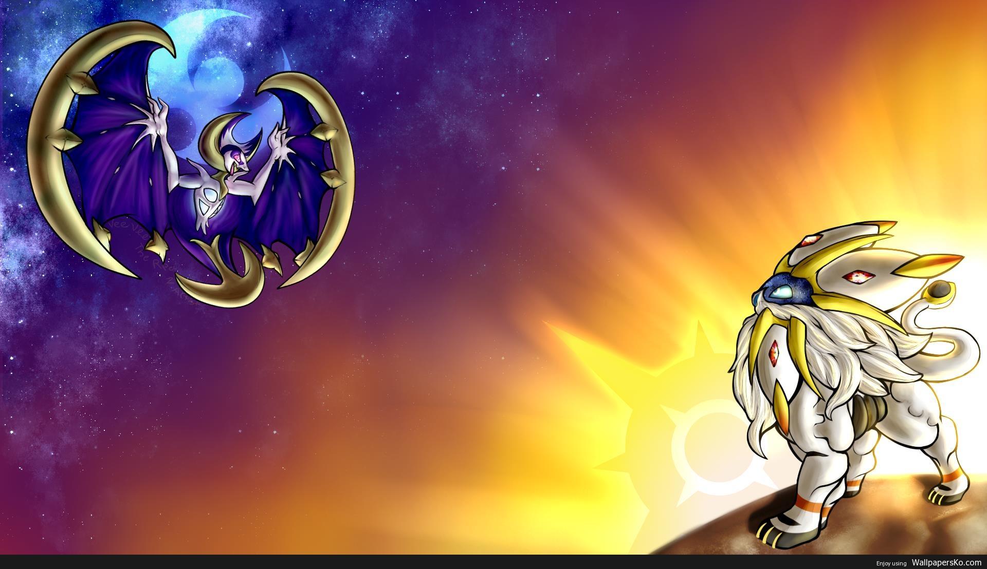 pokemon sun and moon wallpaper 1920×1080
