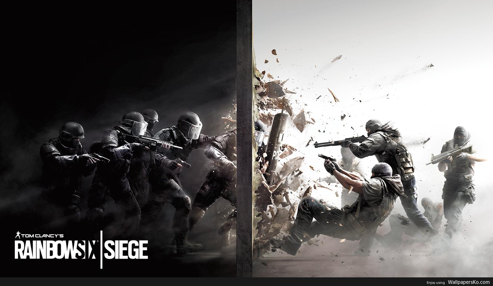 rainbow six siege desktop wallpaper