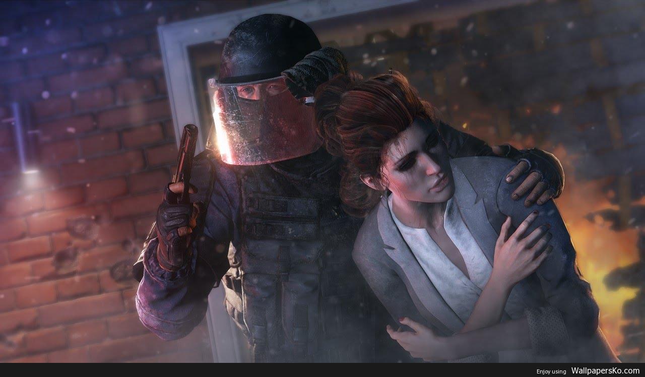 rainbow six siege hostage rescue