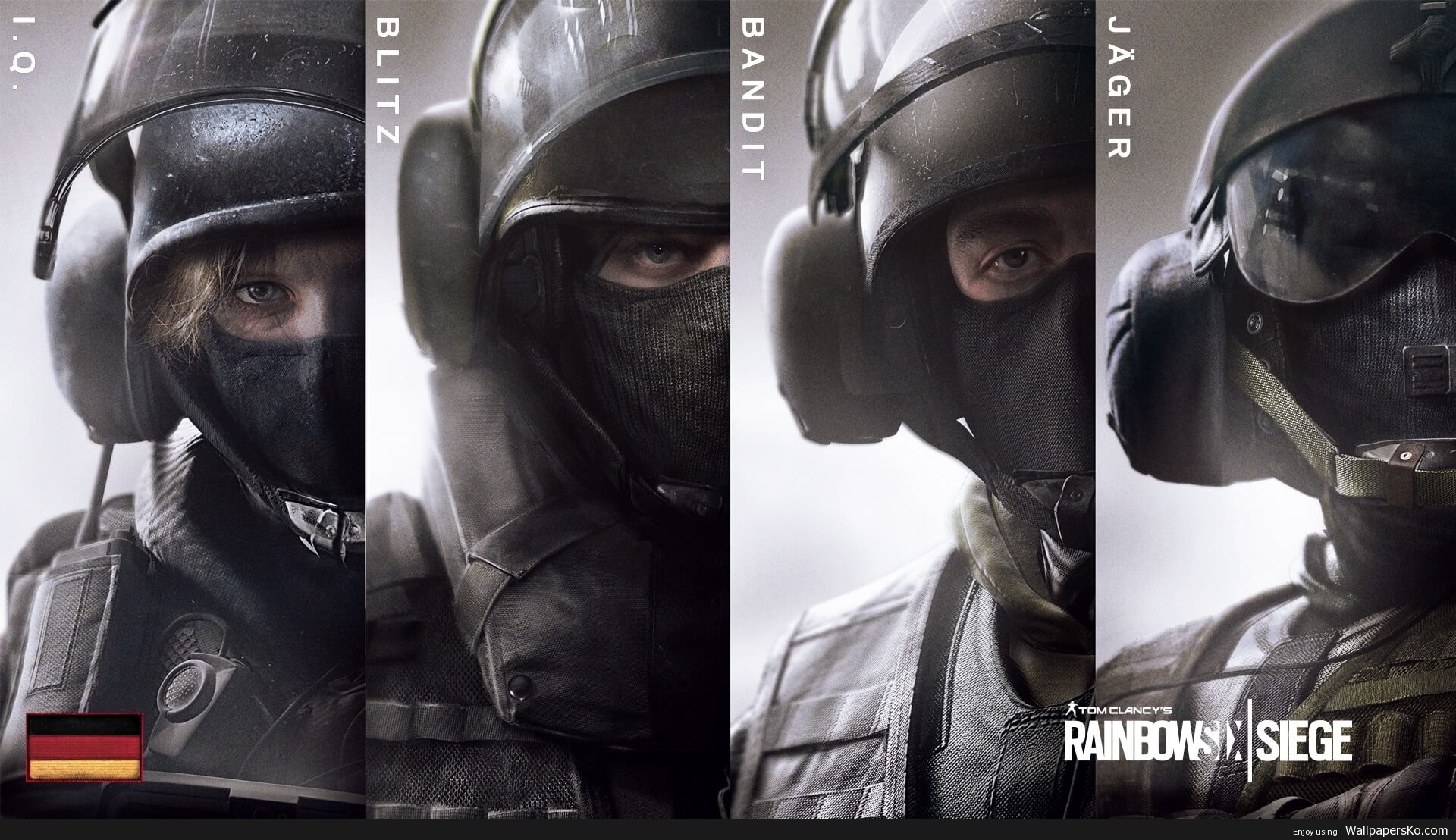 rainbow six siege operators wallpaper