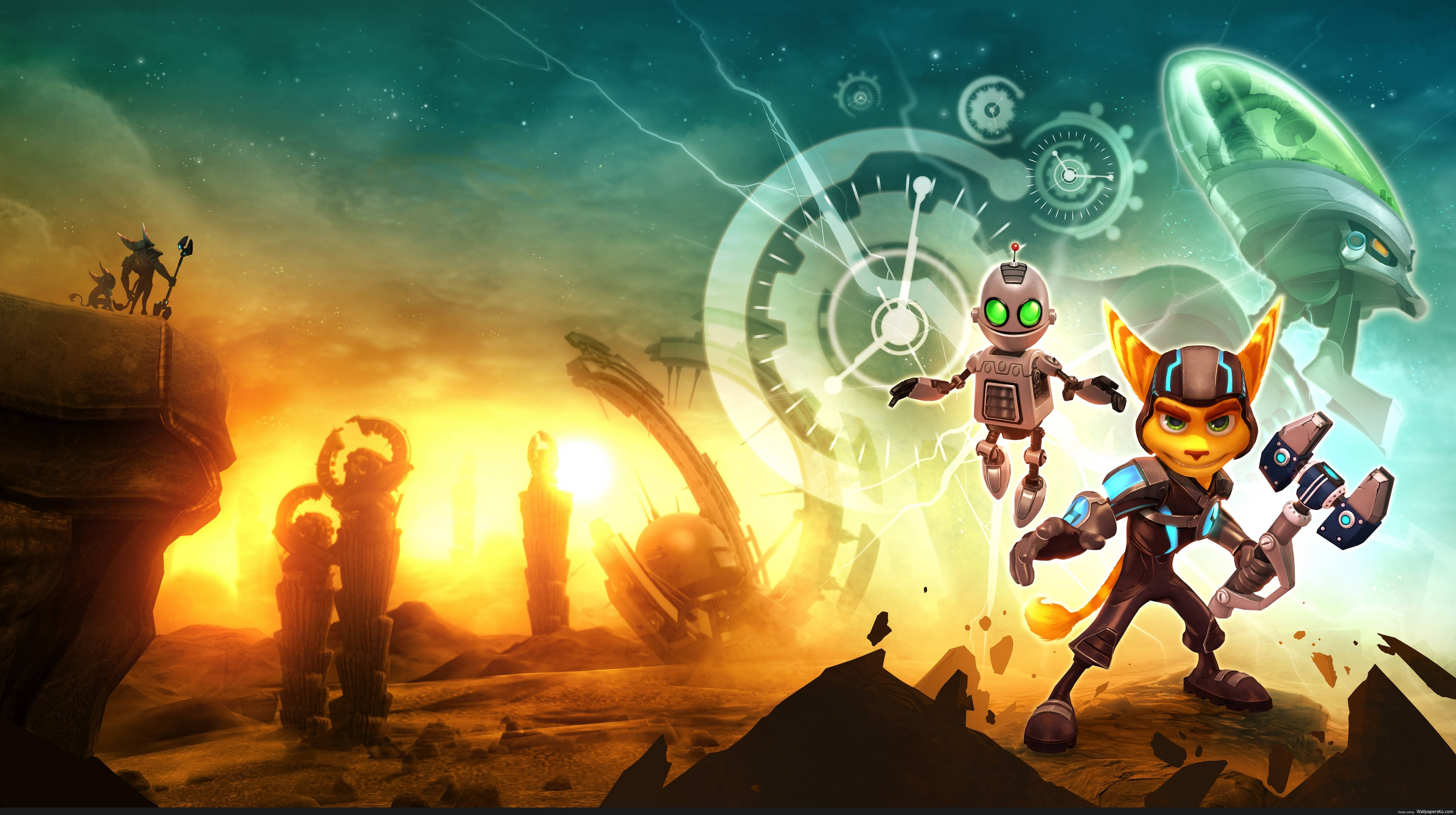 ratchet and clank hd wallpaper | hd wallpapers download