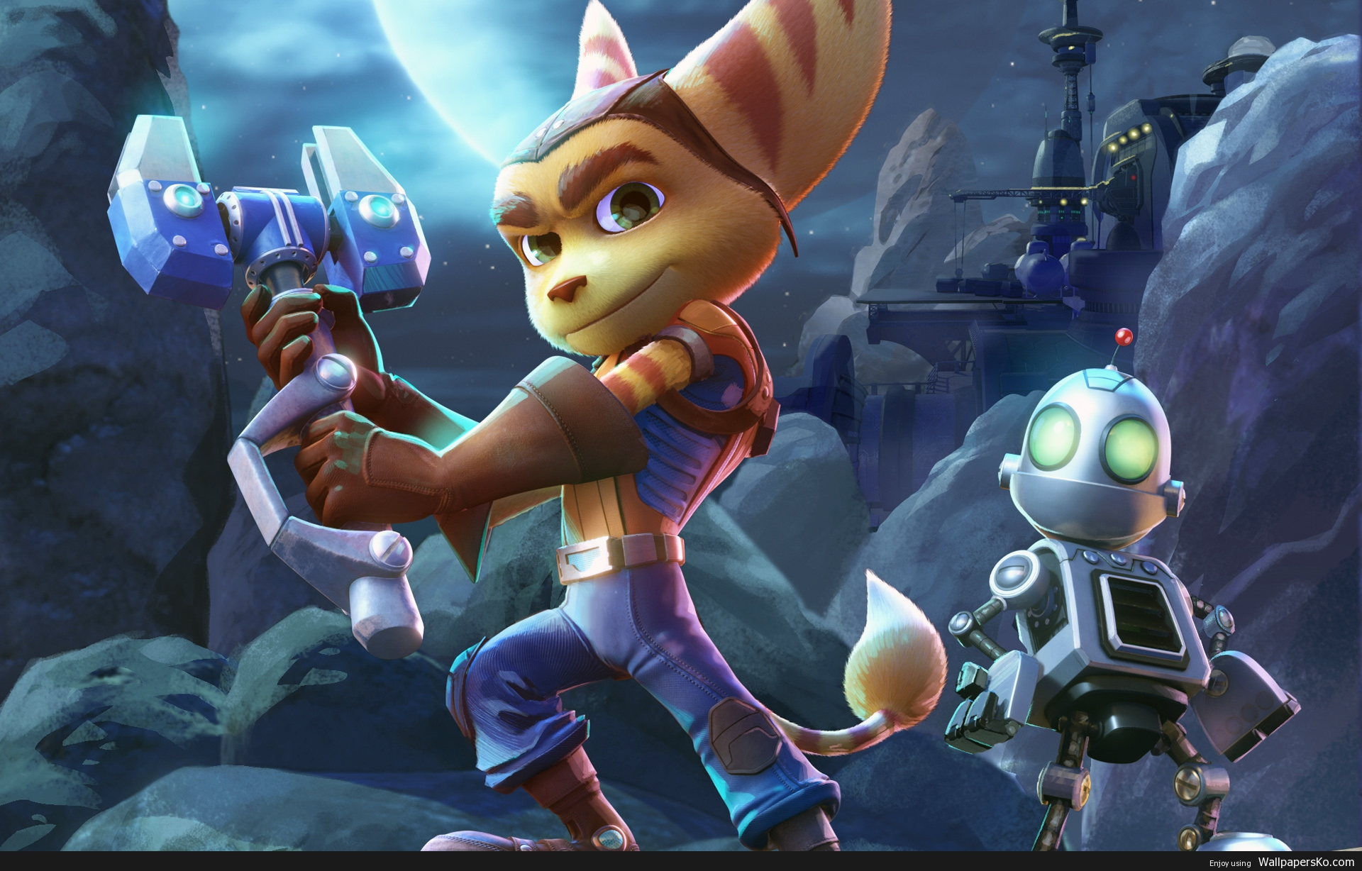ratchet and clank movie wallpaper