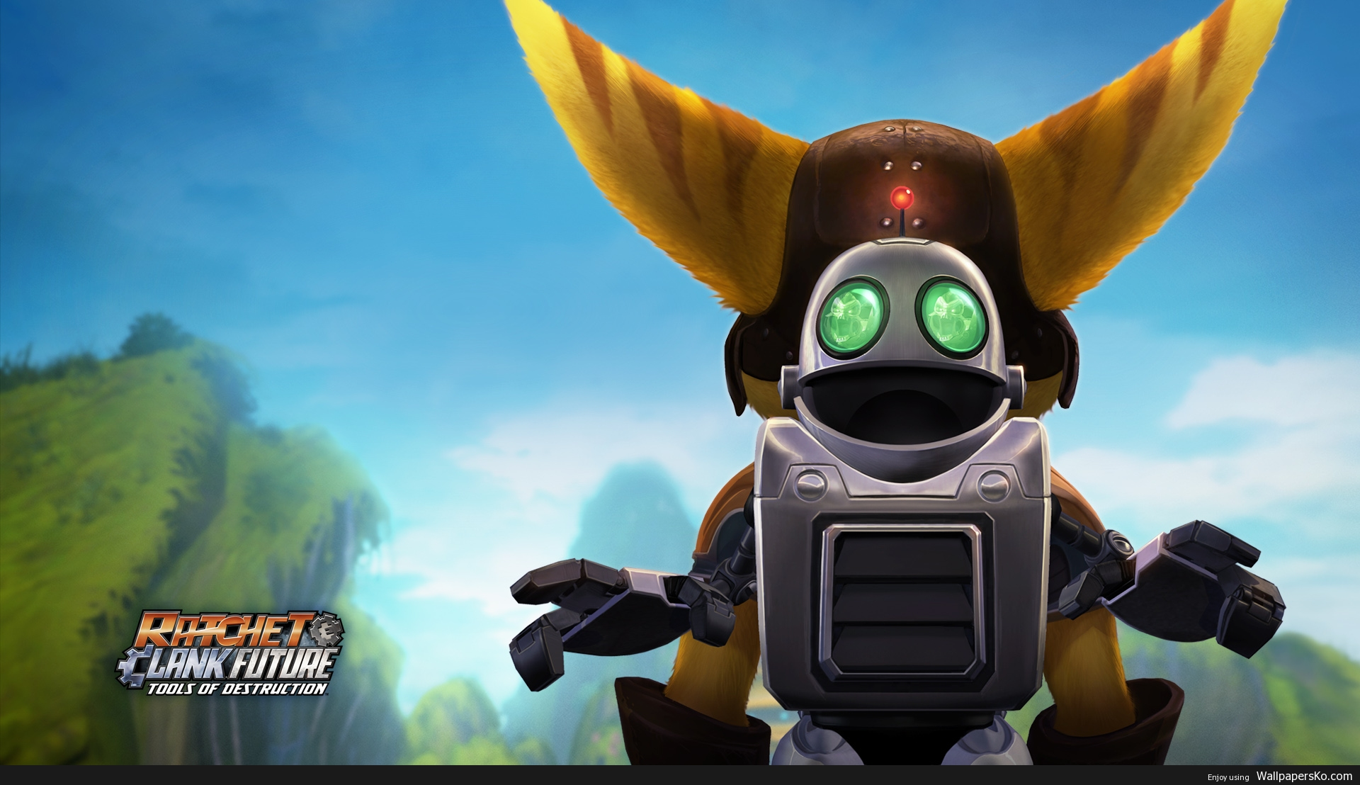 Ratchet And Clank Wallpaper 1920 1080 Hd Wallpapers Download