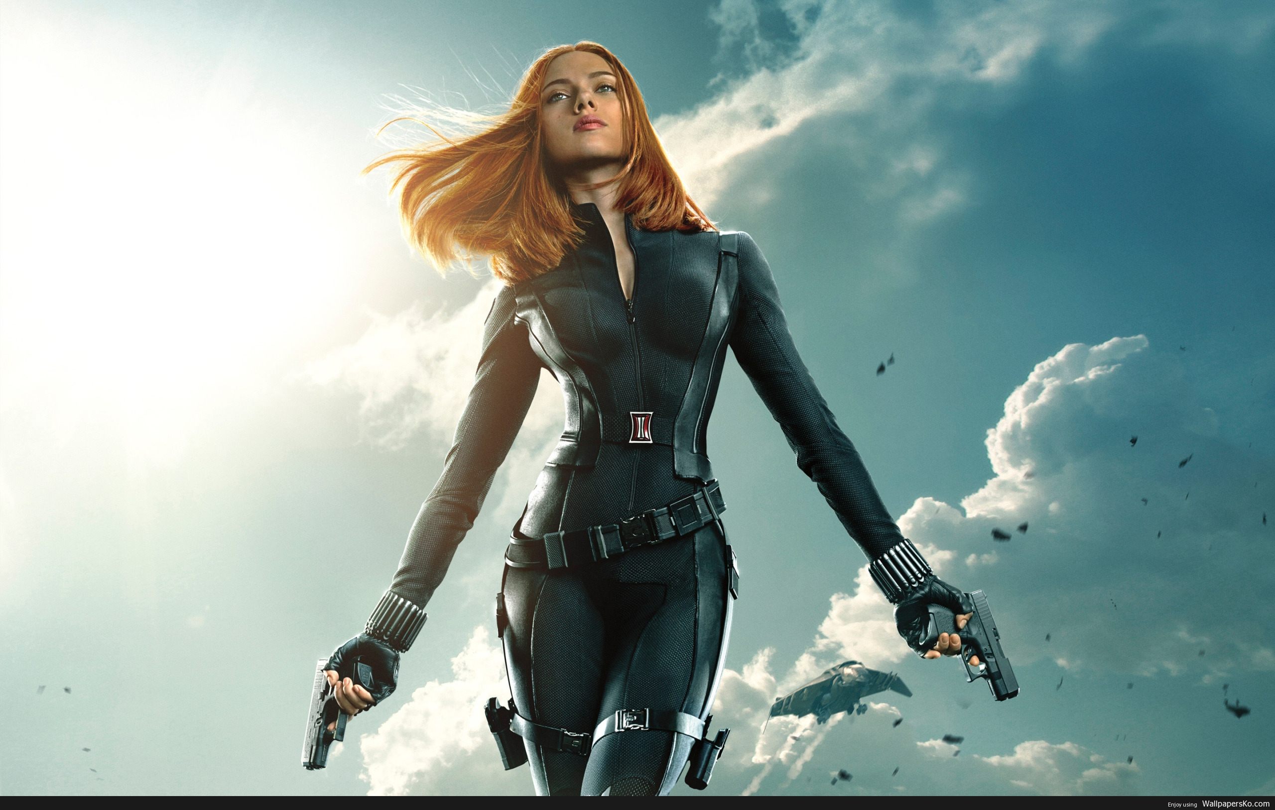scarlett johansson black widow wallpapers