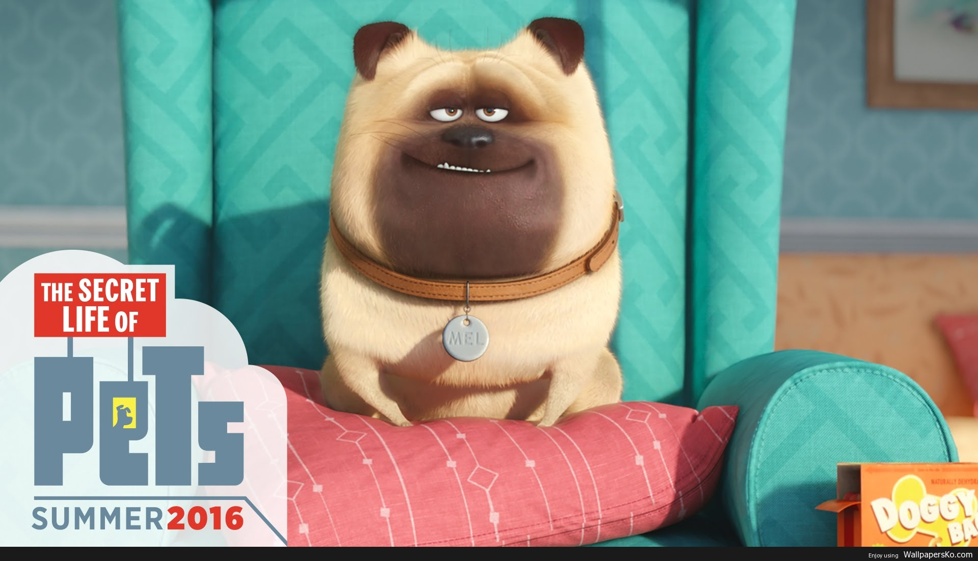 secret life of pets mel