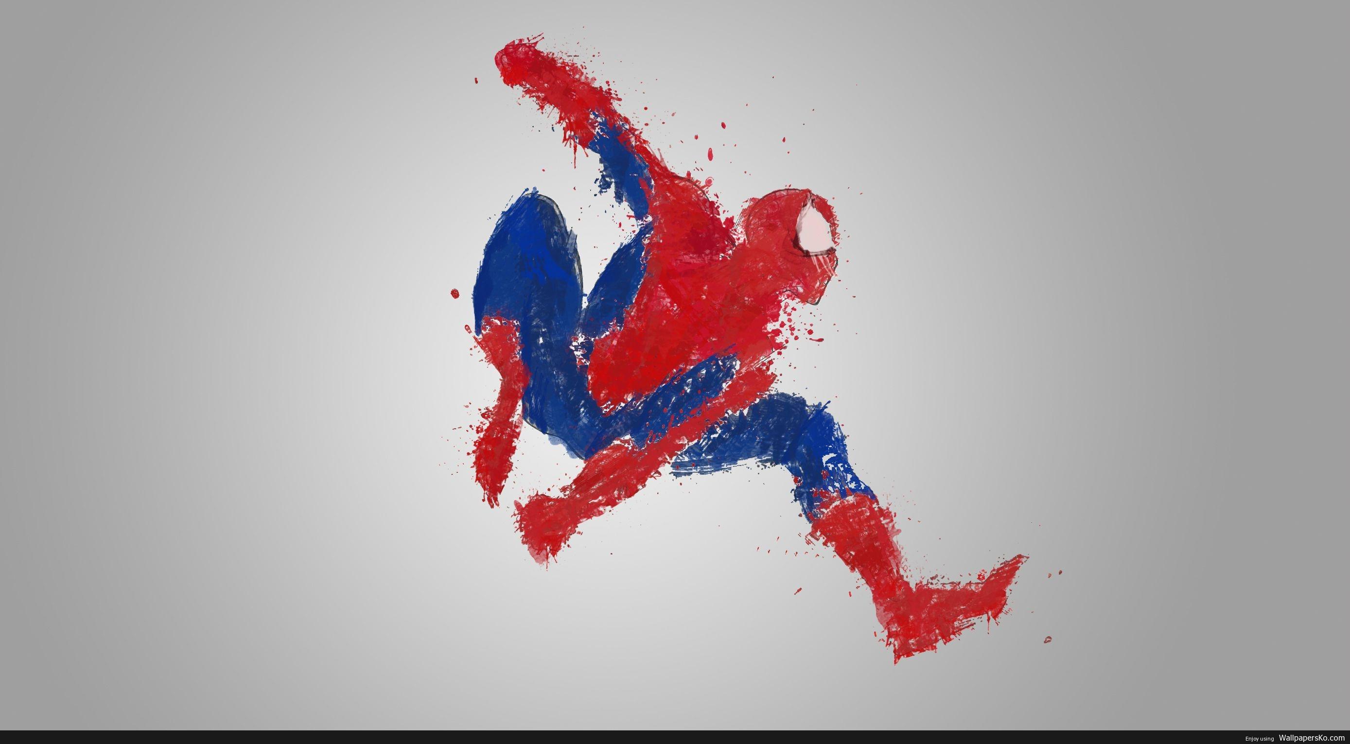 spiderman fan art wallpaper