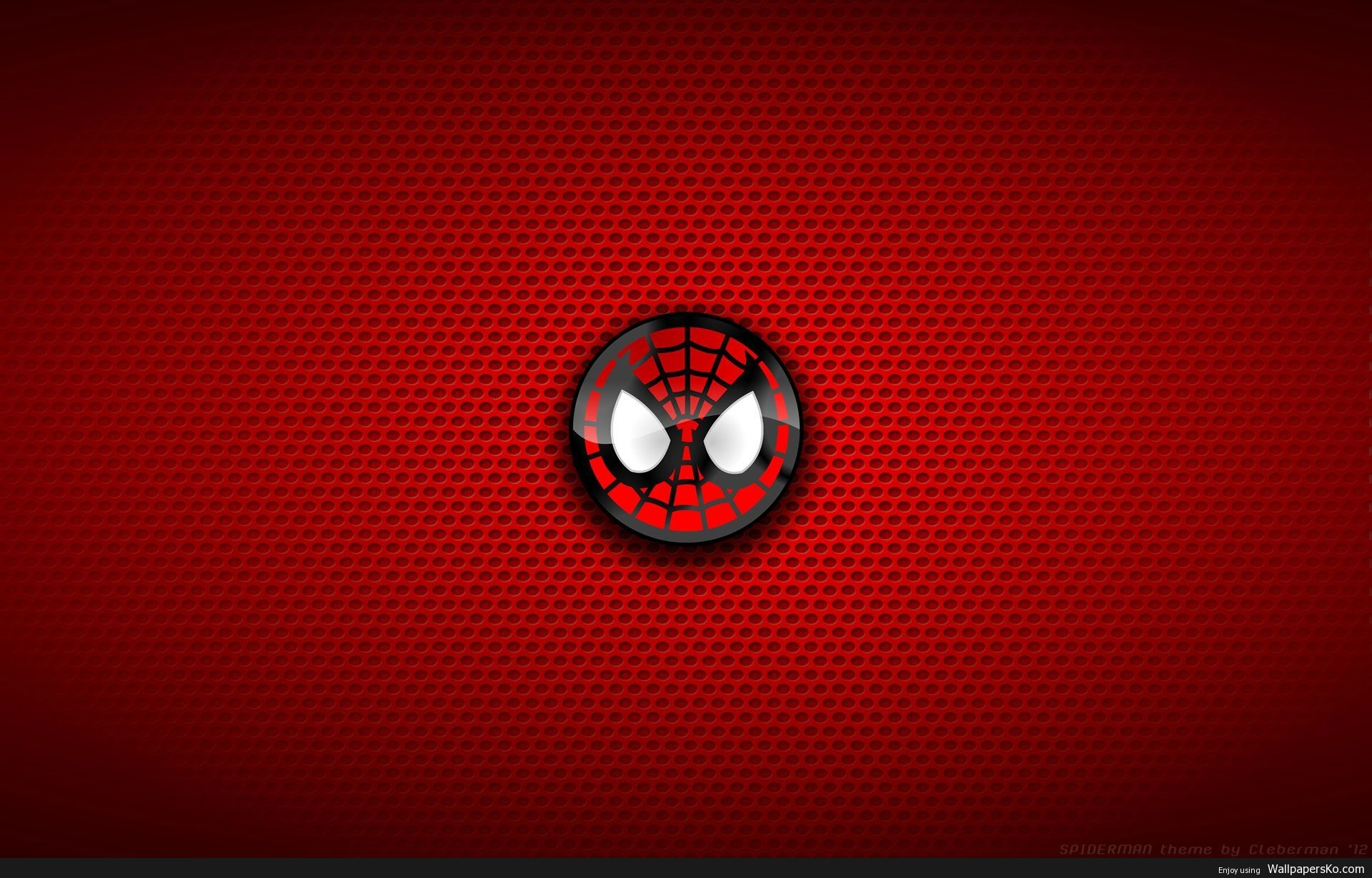 spiderman logo background