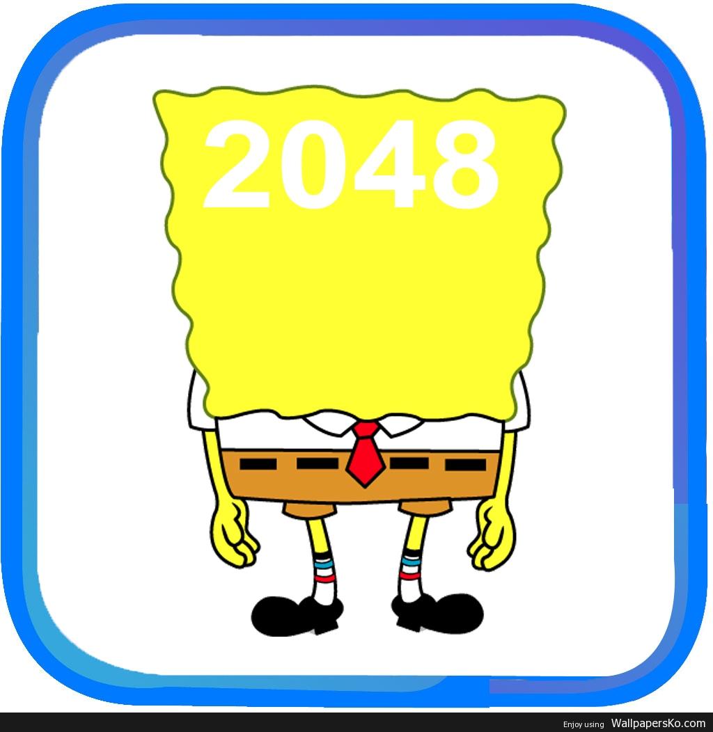 spongebob 2048