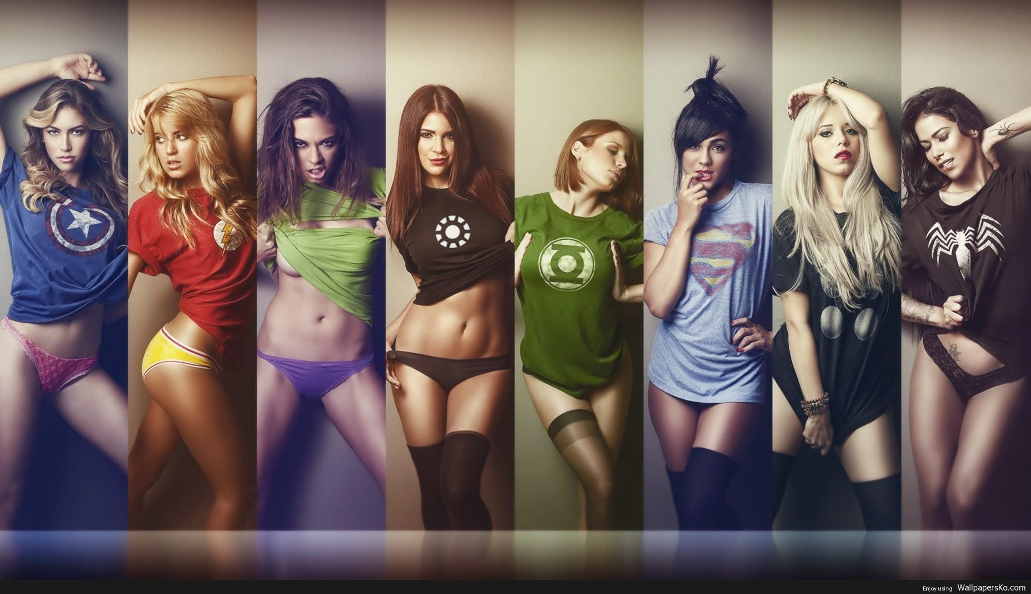 super hero girls shirts