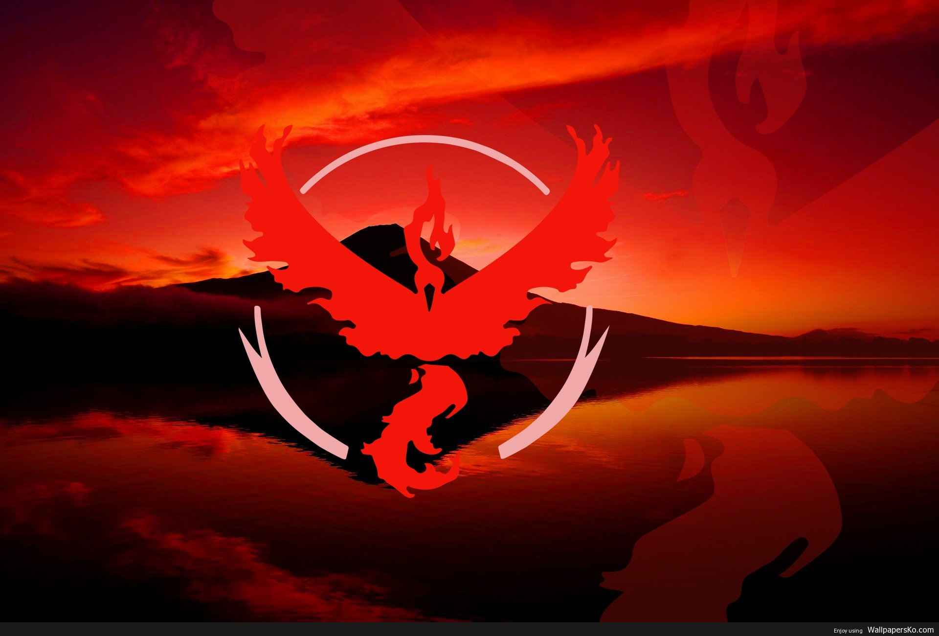 team valor wallpaper pokemon go