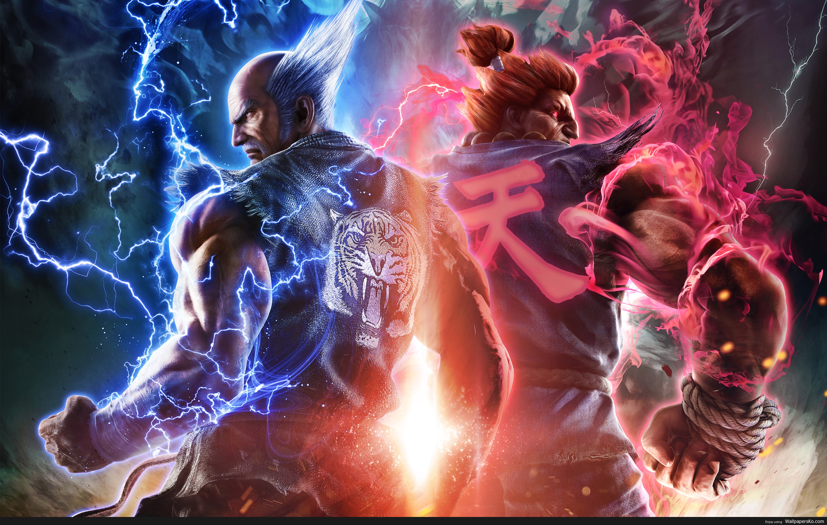 tekken 7 wallpaper
