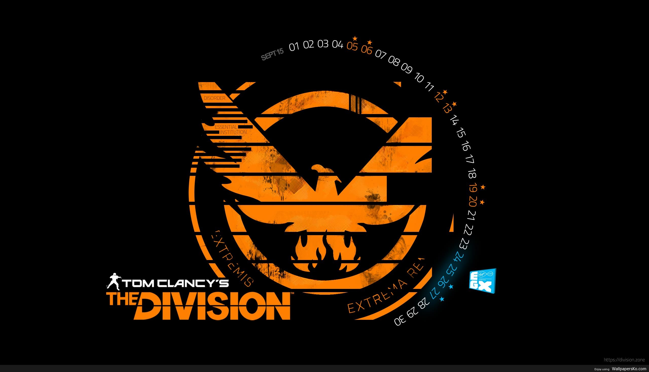 The Division Wallpaper Logo Hd Wallpapers Download