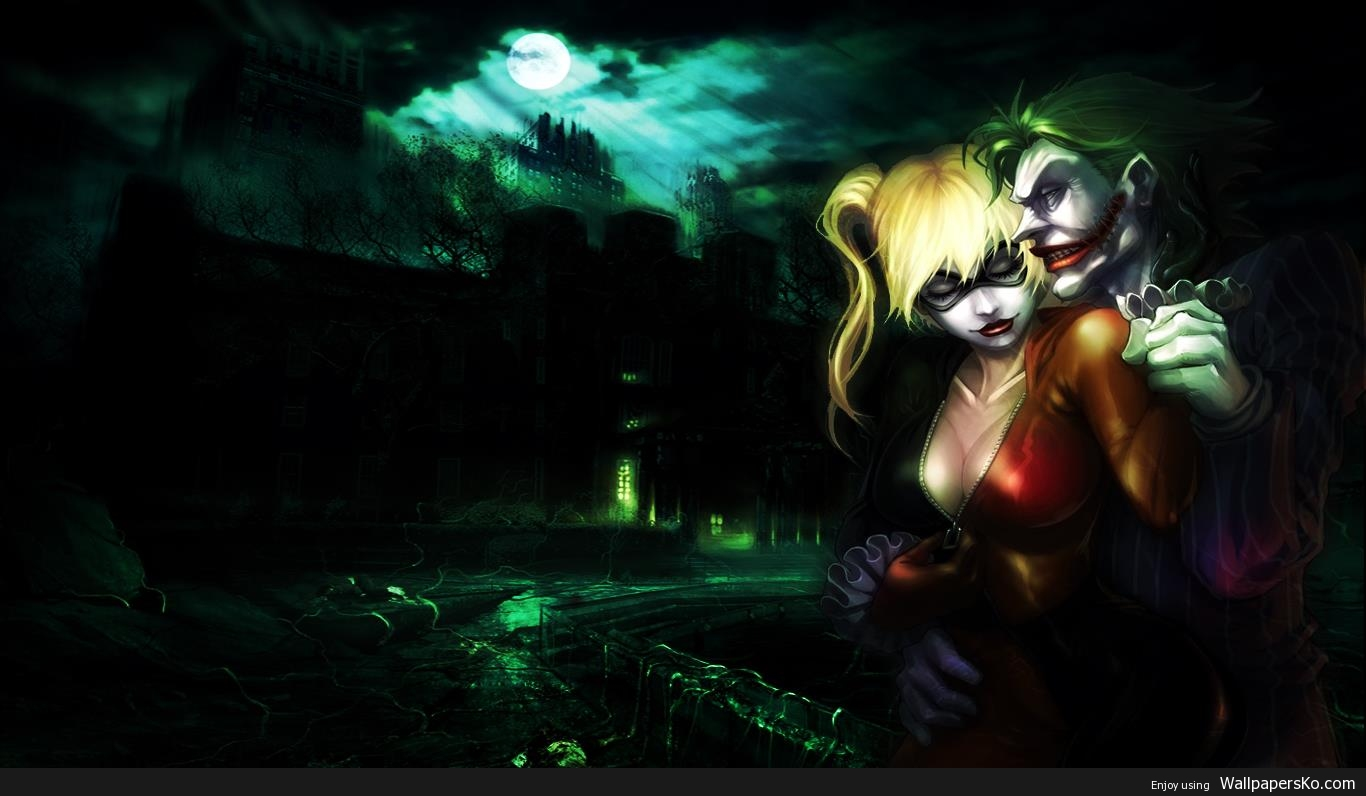 The Joker And Harley Wallpaper Hd Wallpapers Download