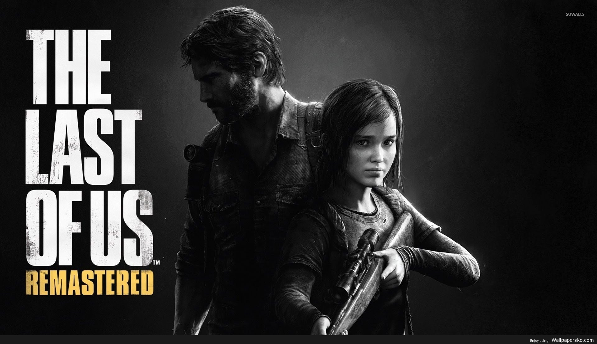 the last of us remastered wallpaper 1920×1080