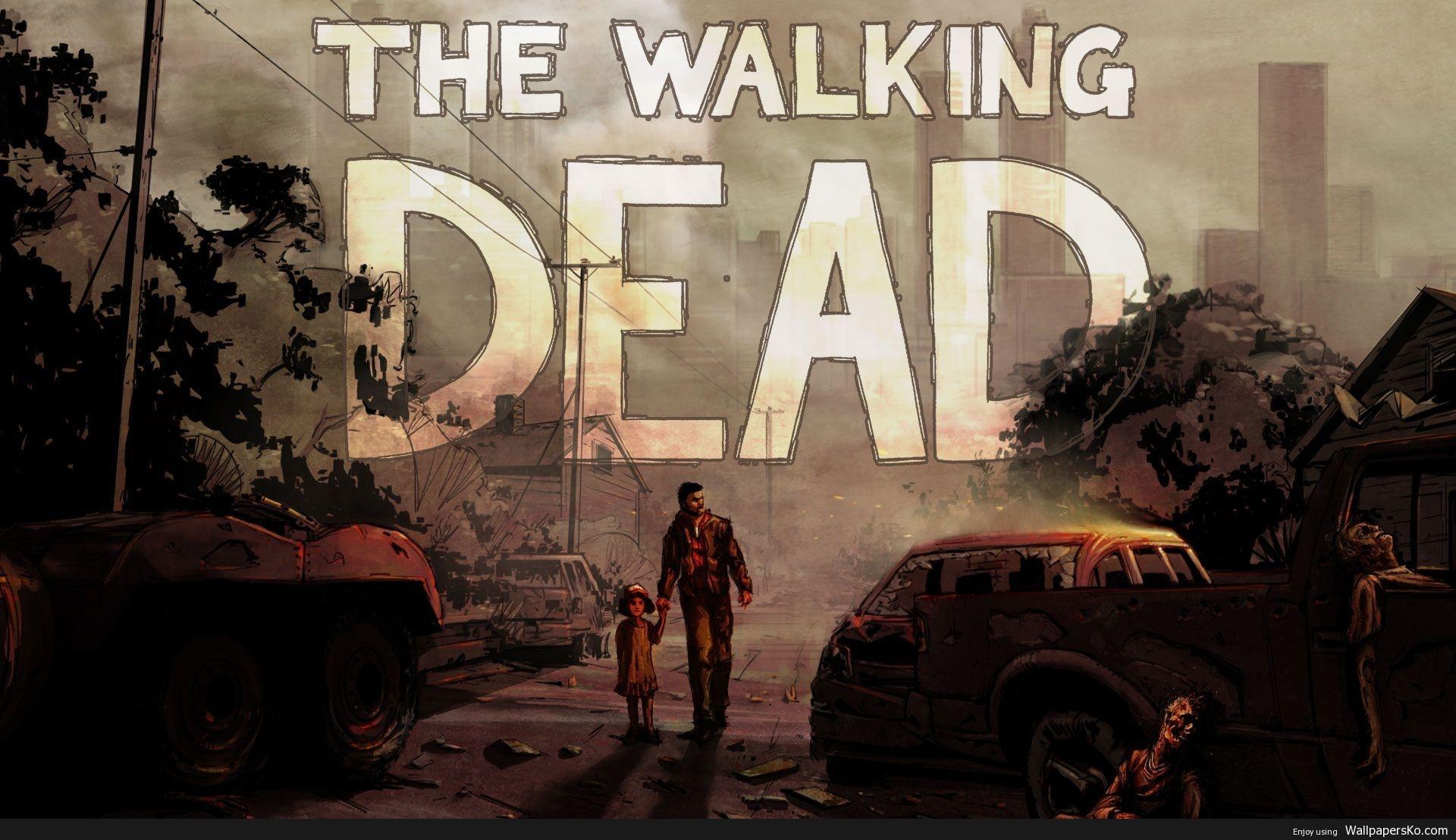 the walking dead telltale wallpaper