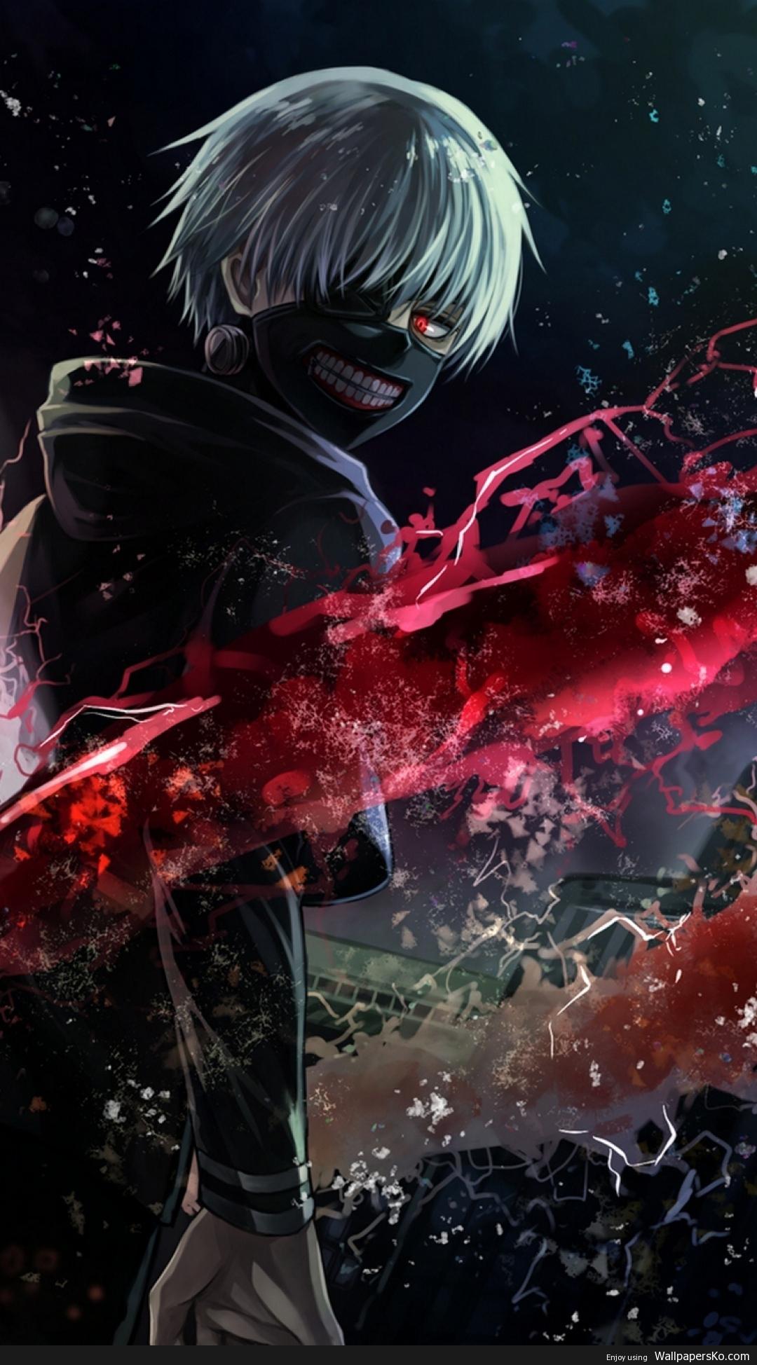 tokyo ghoul wallpaper 1080x1920