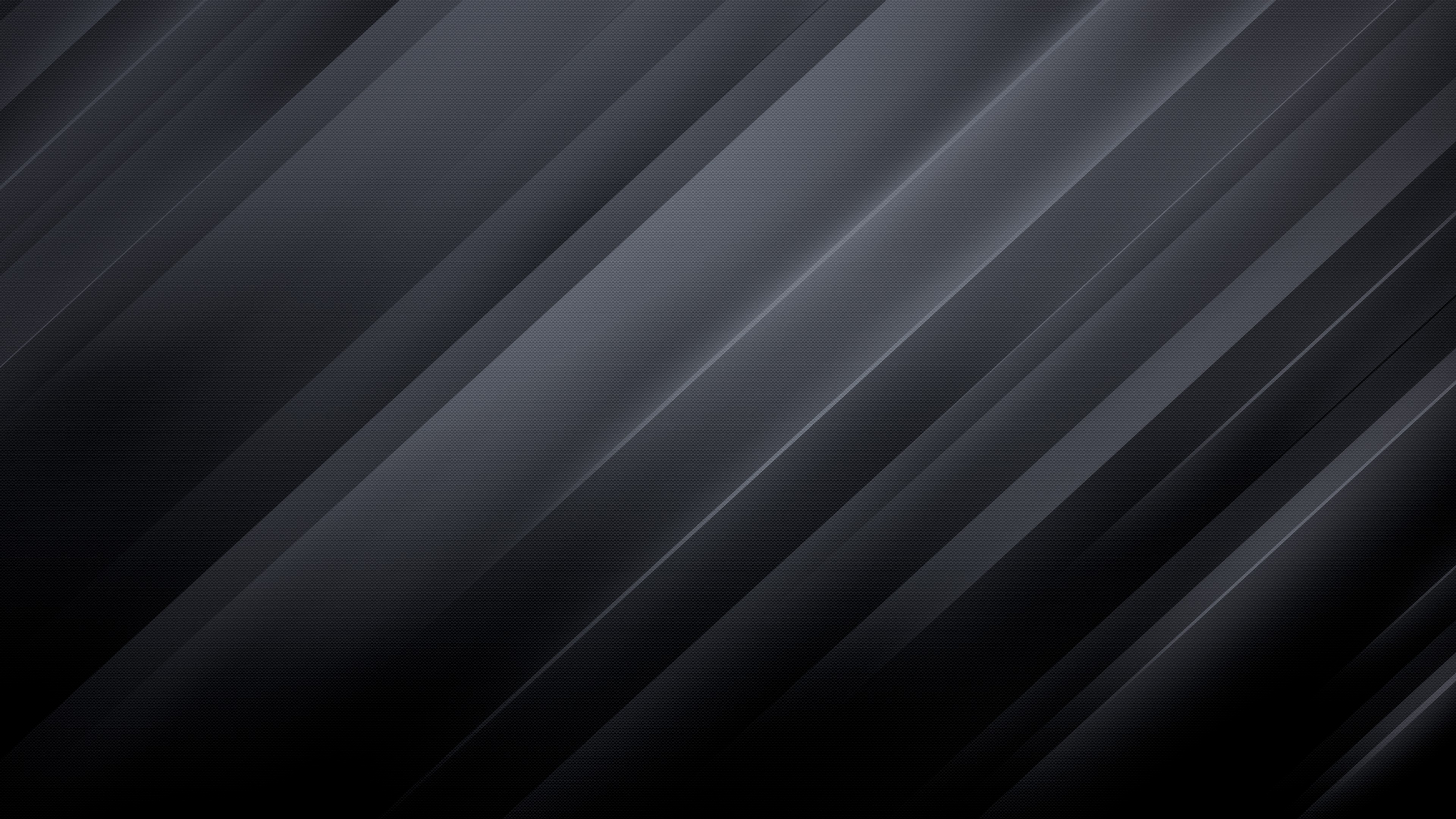 4k Black Abstract Wallpaper