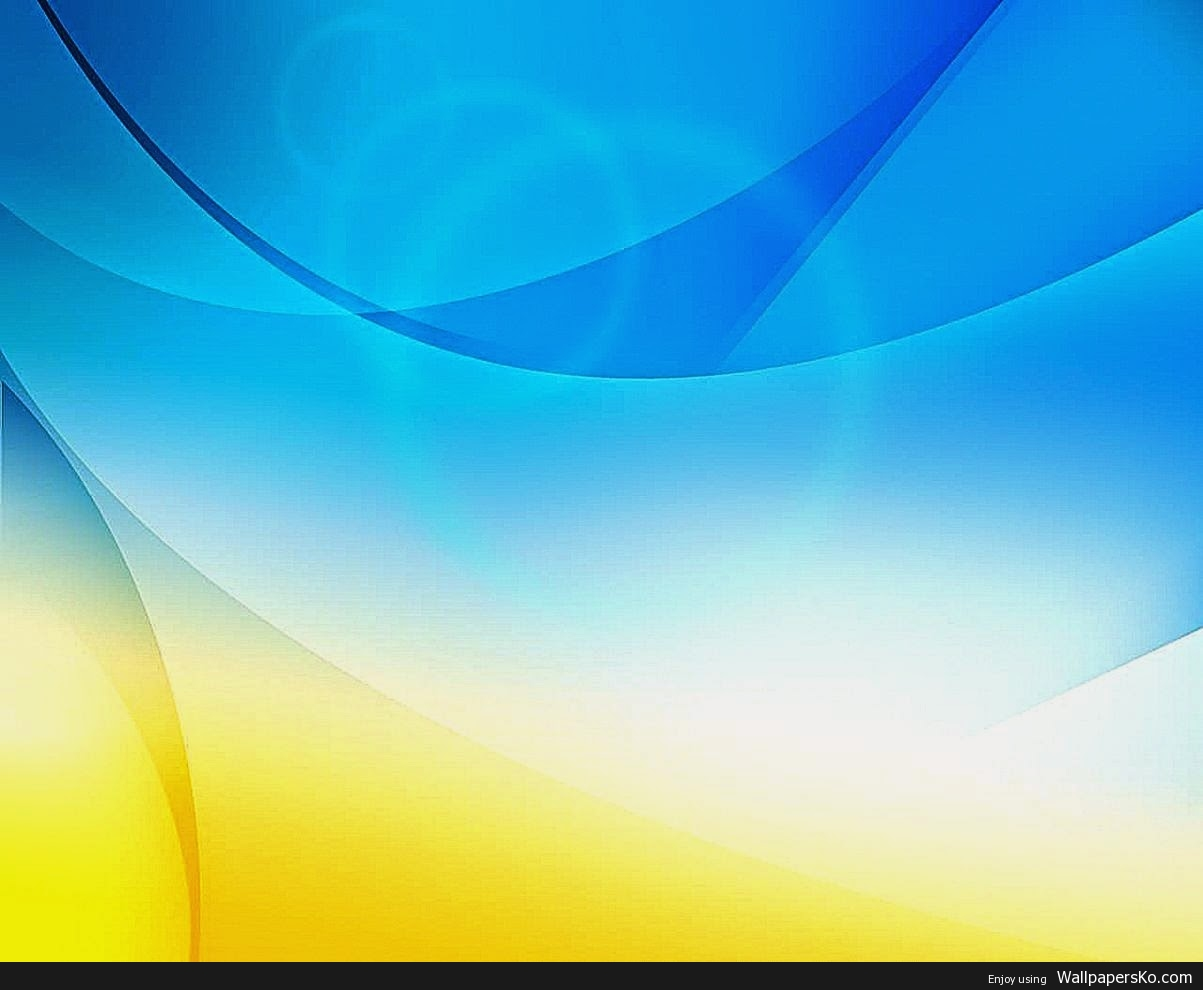 Abstract Wallpaper Yellow Blue