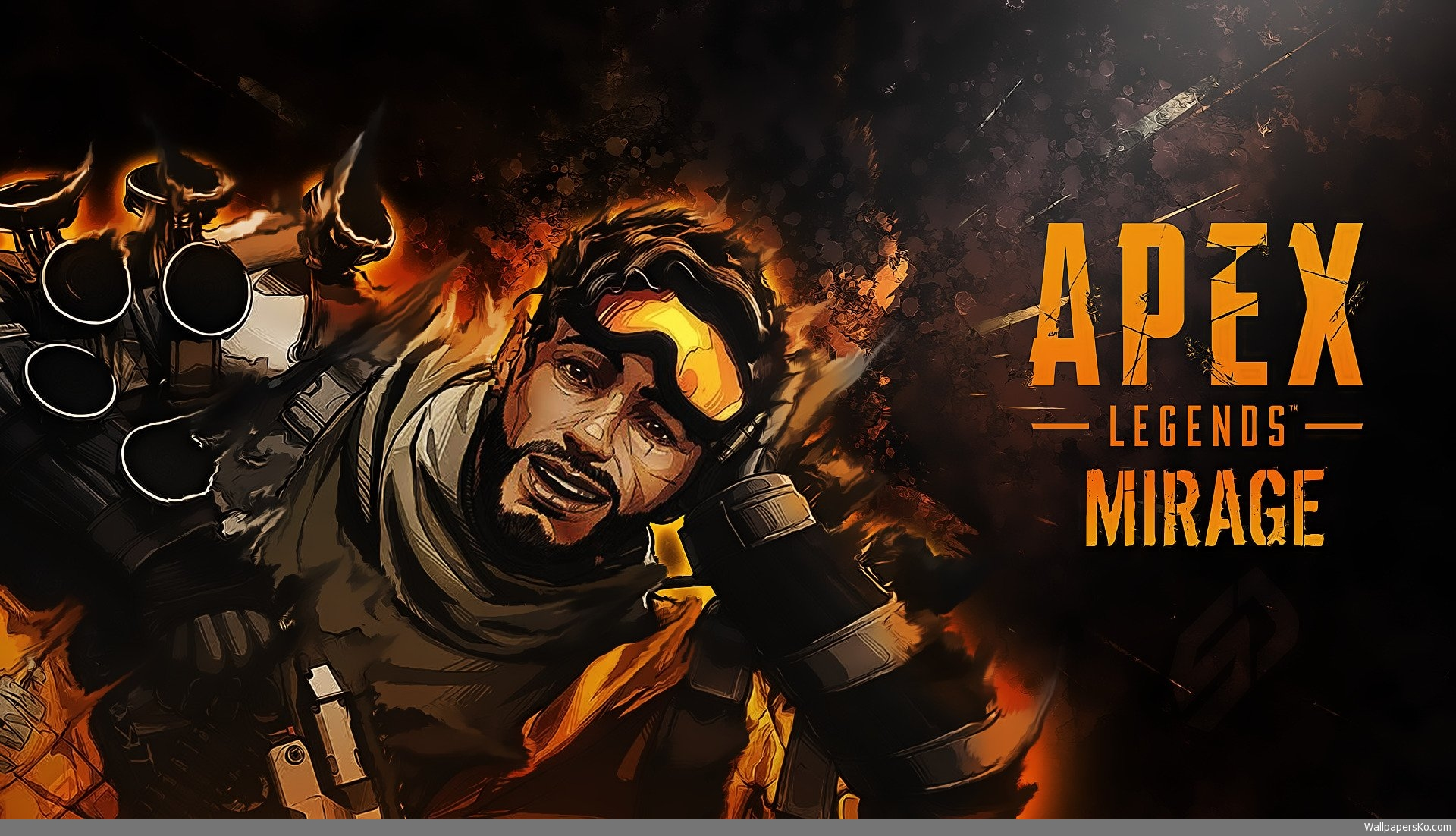 Apex Legends Mirage Game Wallpaper
