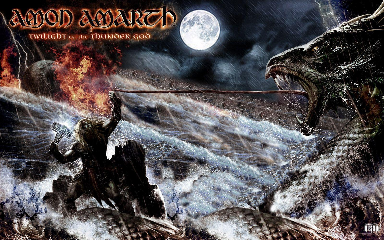 amon amarth twilight of the thunder god wallpaper
