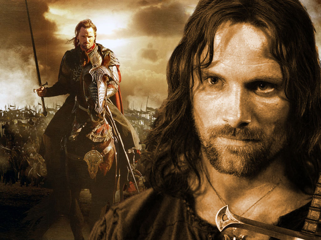 pictures of aragorn from lord of the rings