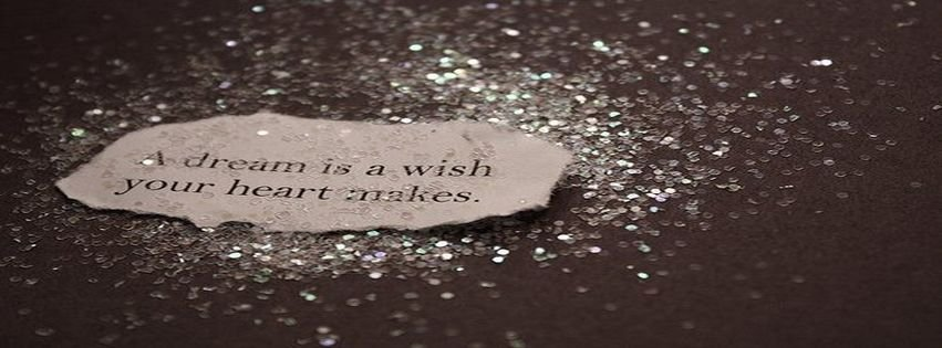 a dream is a wish your heart makes fb cover
